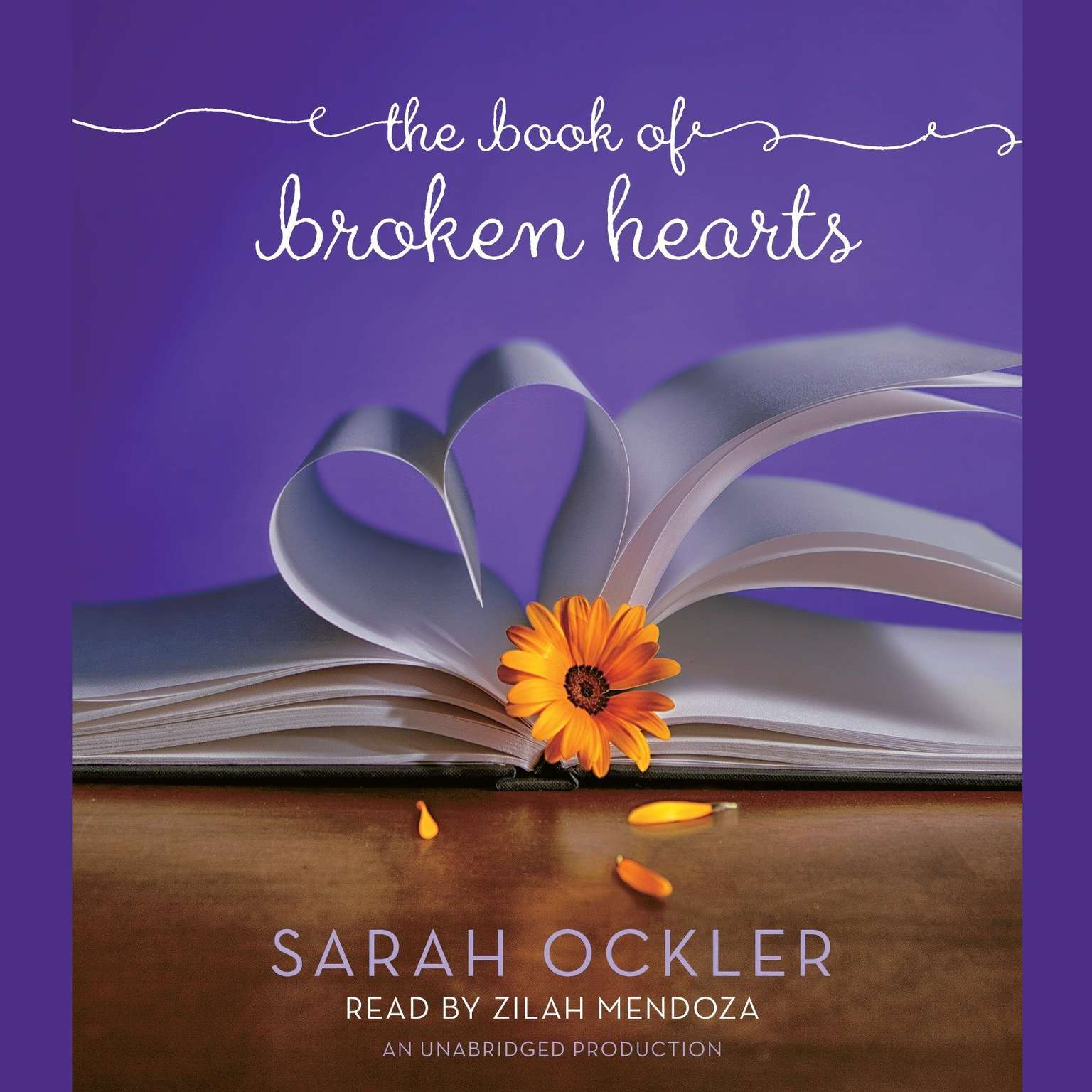 Printable The Book of Broken Hearts Audiobook Cover Art