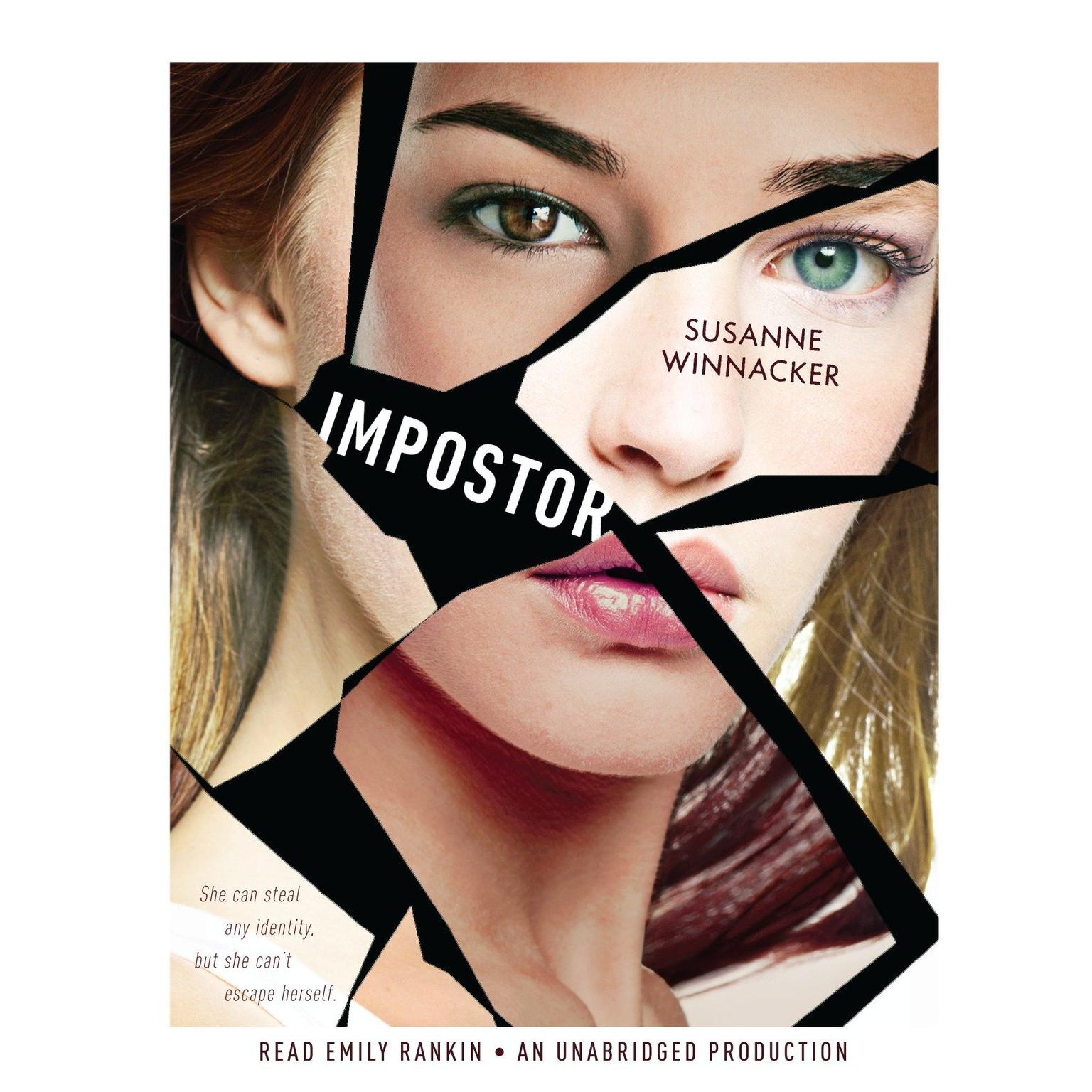 Printable Impostor: A Variants Novel Audiobook Cover Art