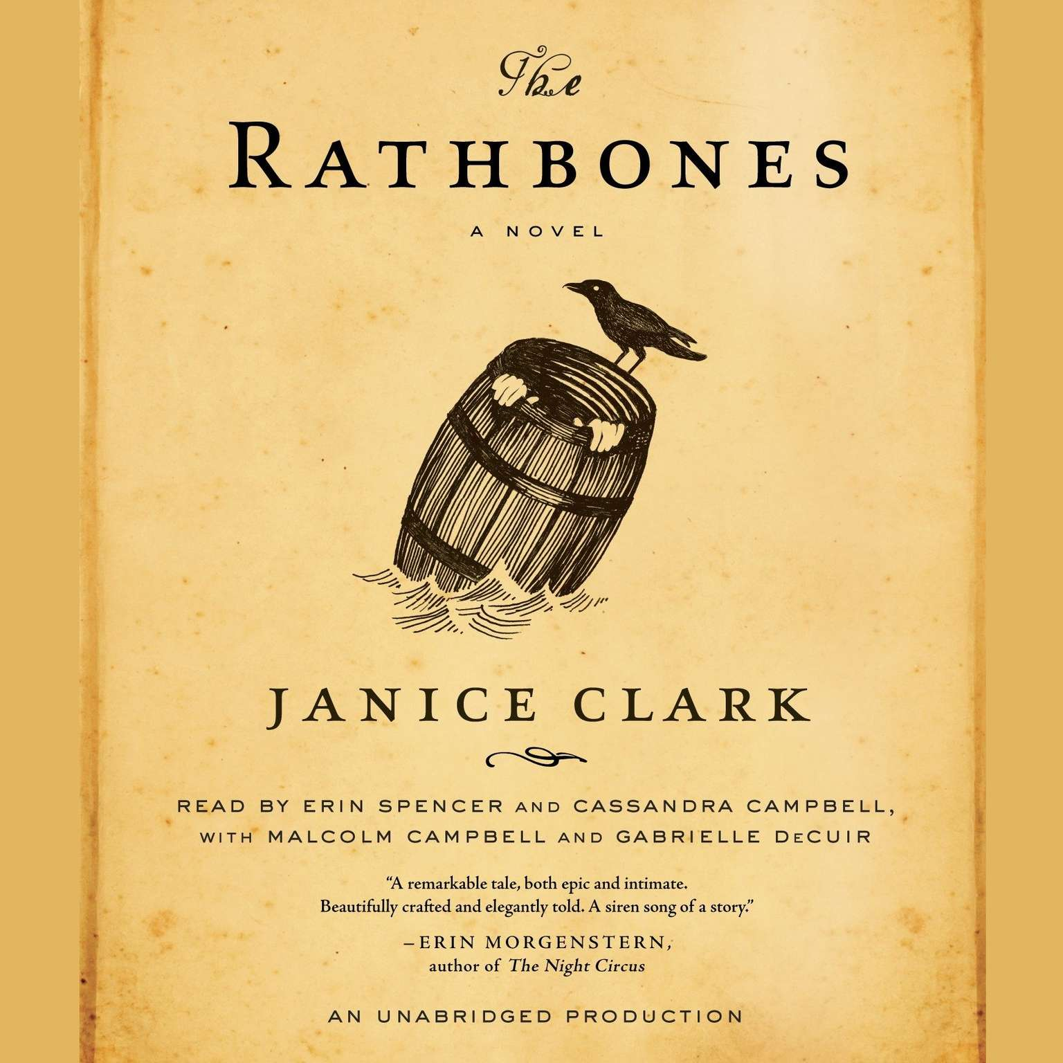 Printable The Rathbones Audiobook Cover Art