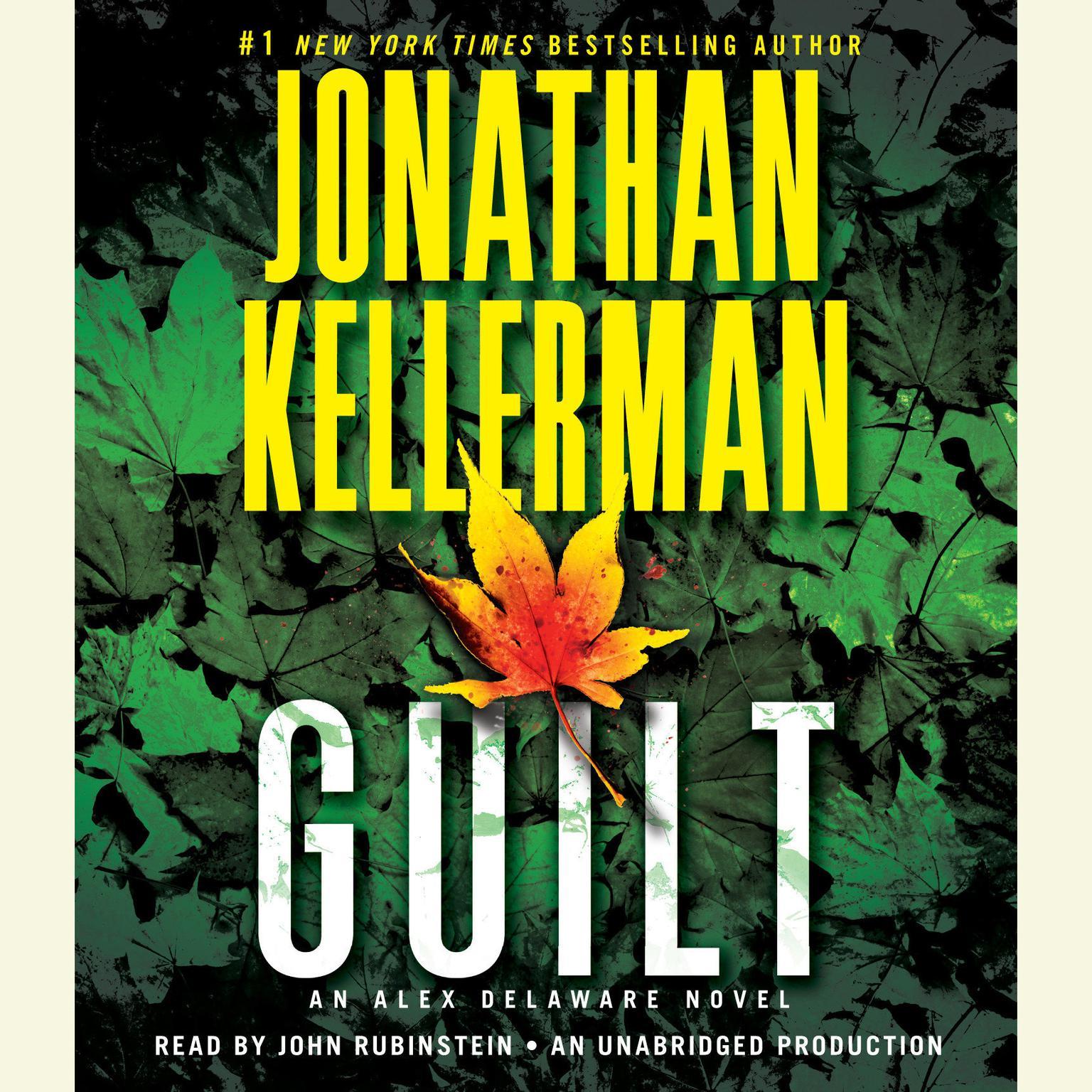 Printable Guilt: An Alex Delaware Novel Audiobook Cover Art