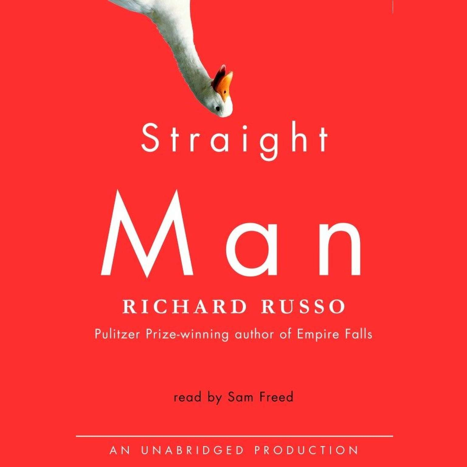 Printable Straight Man: A Novel Audiobook Cover Art