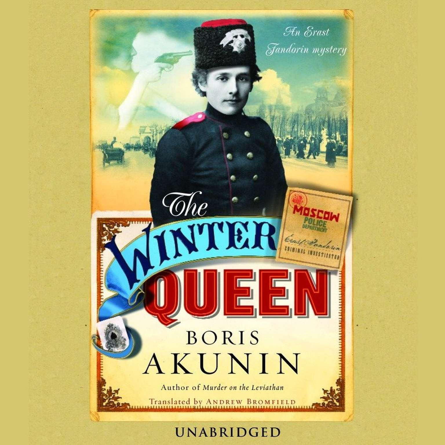 Printable The Winter Queen: A Novel Audiobook Cover Art