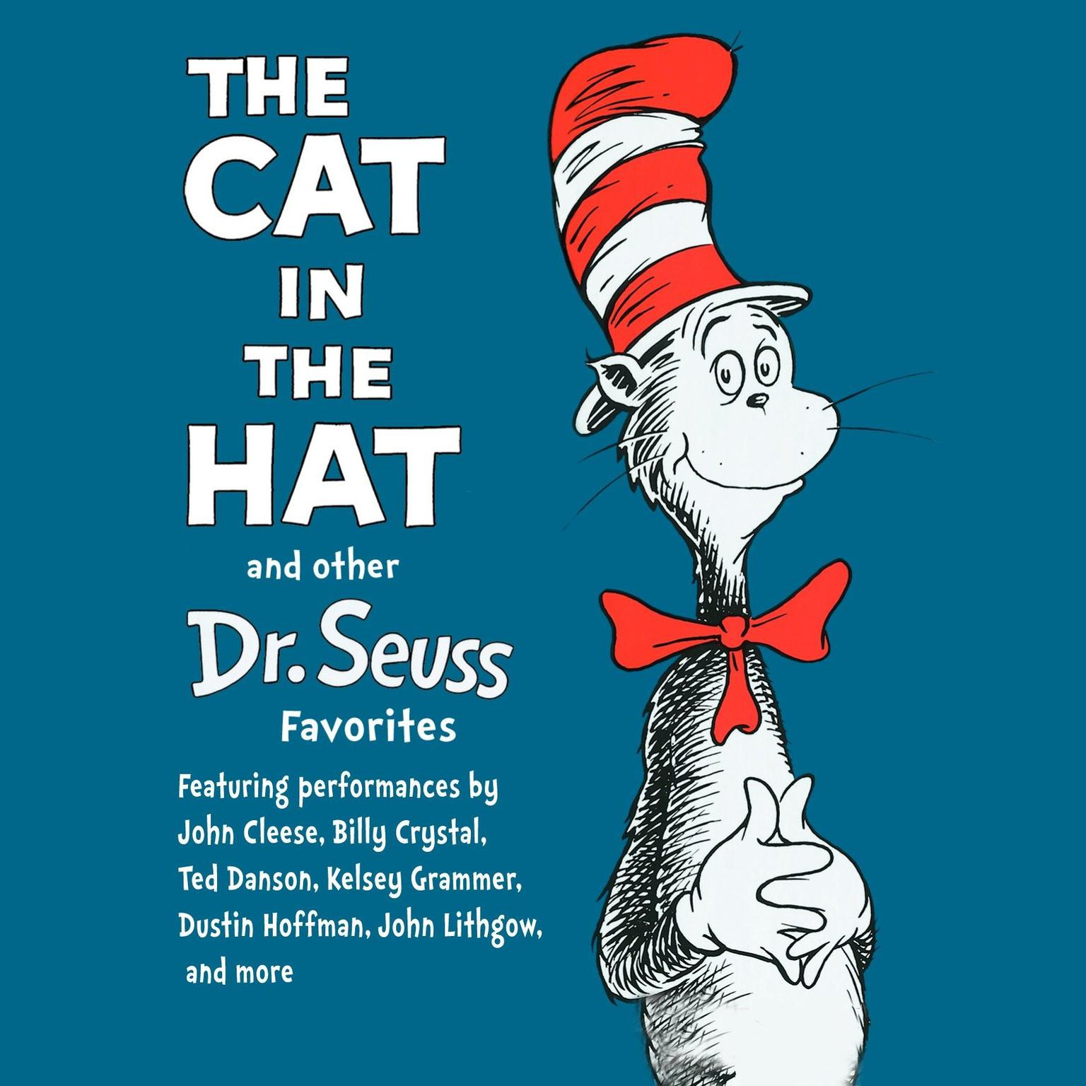 Printable The Cat in the Hat and Other Dr. Seuss Favorites Audiobook Cover Art