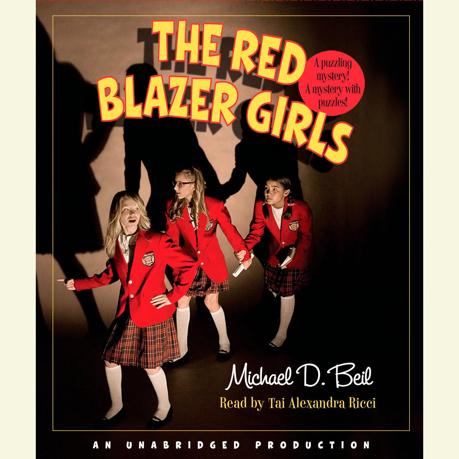 Printable The Red Blazer Girls: The Ring of Rocamadour Audiobook Cover Art