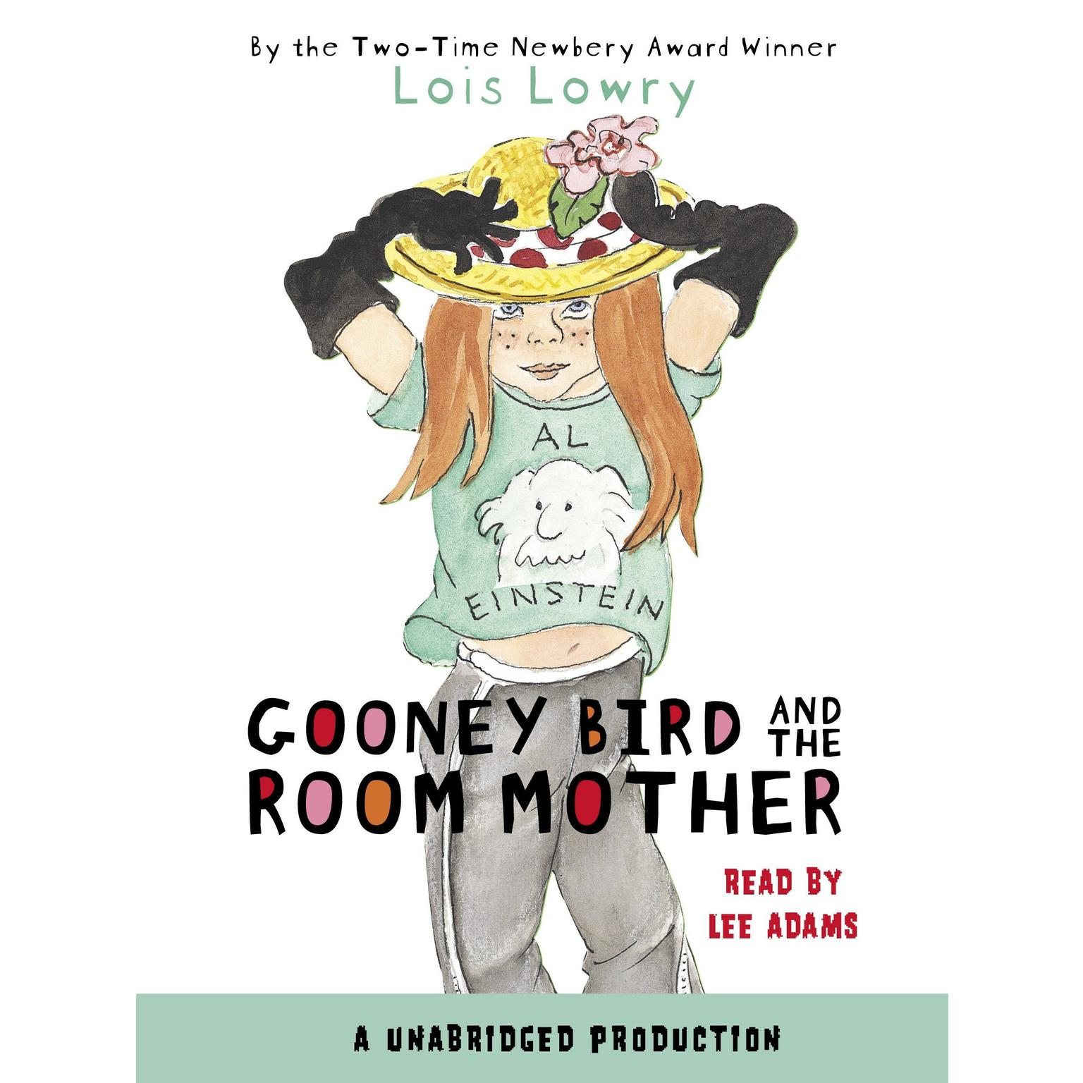 Printable Gooney Bird and the Room Mother Audiobook Cover Art