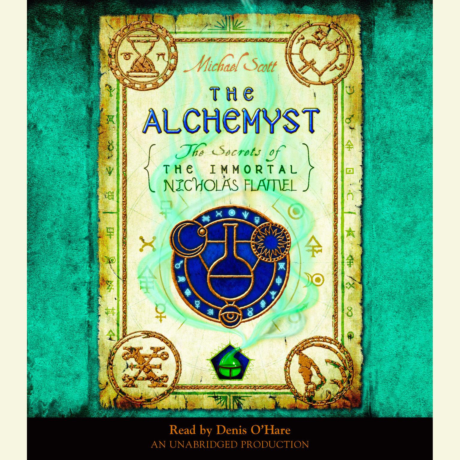 Printable The Alchemyst Audiobook Cover Art