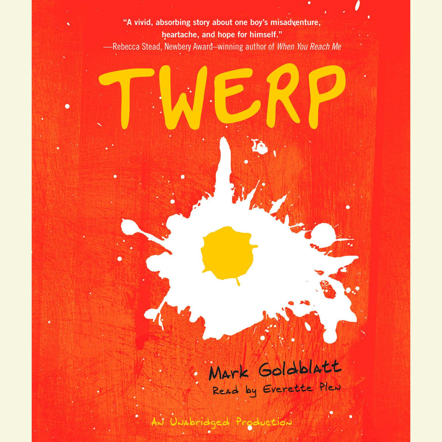 Printable Twerp Audiobook Cover Art