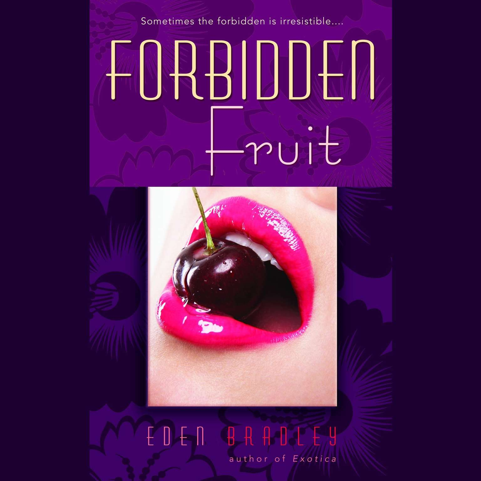Printable Forbidden Fruit Audiobook Cover Art