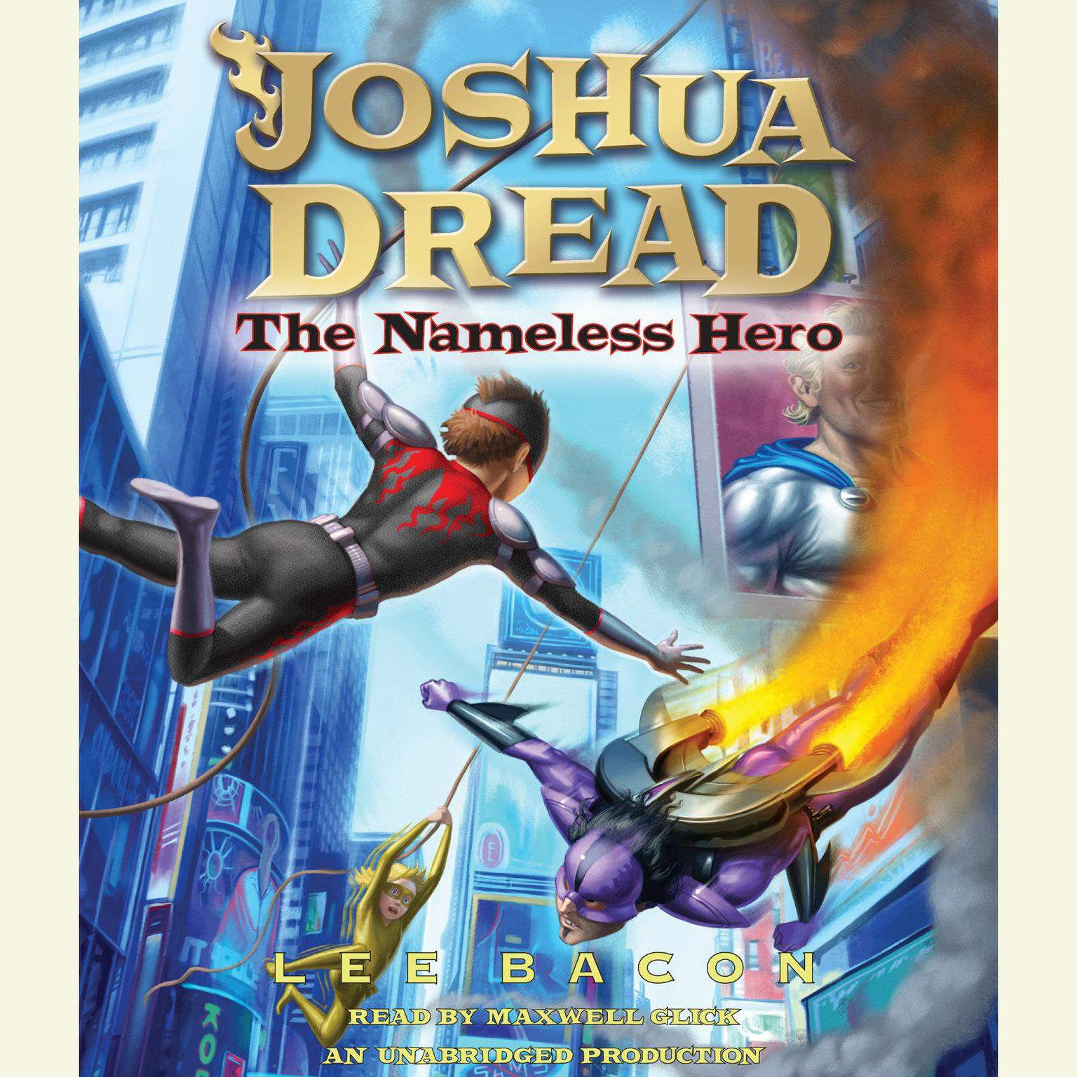 Printable Joshua Dread: The Nameless Hero Audiobook Cover Art