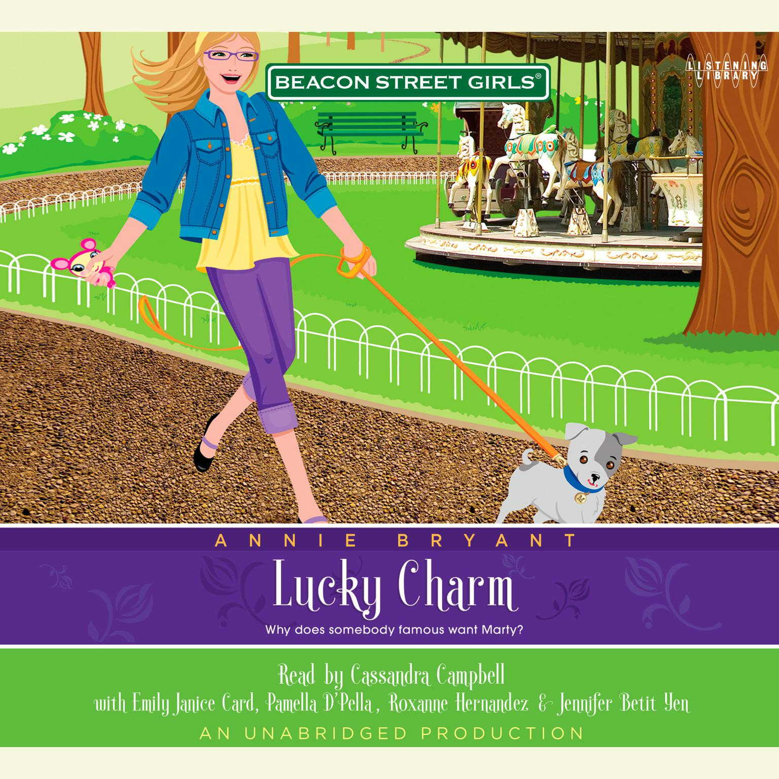 Printable Beacon Street Girls #8: Lucky Charm Audiobook Cover Art