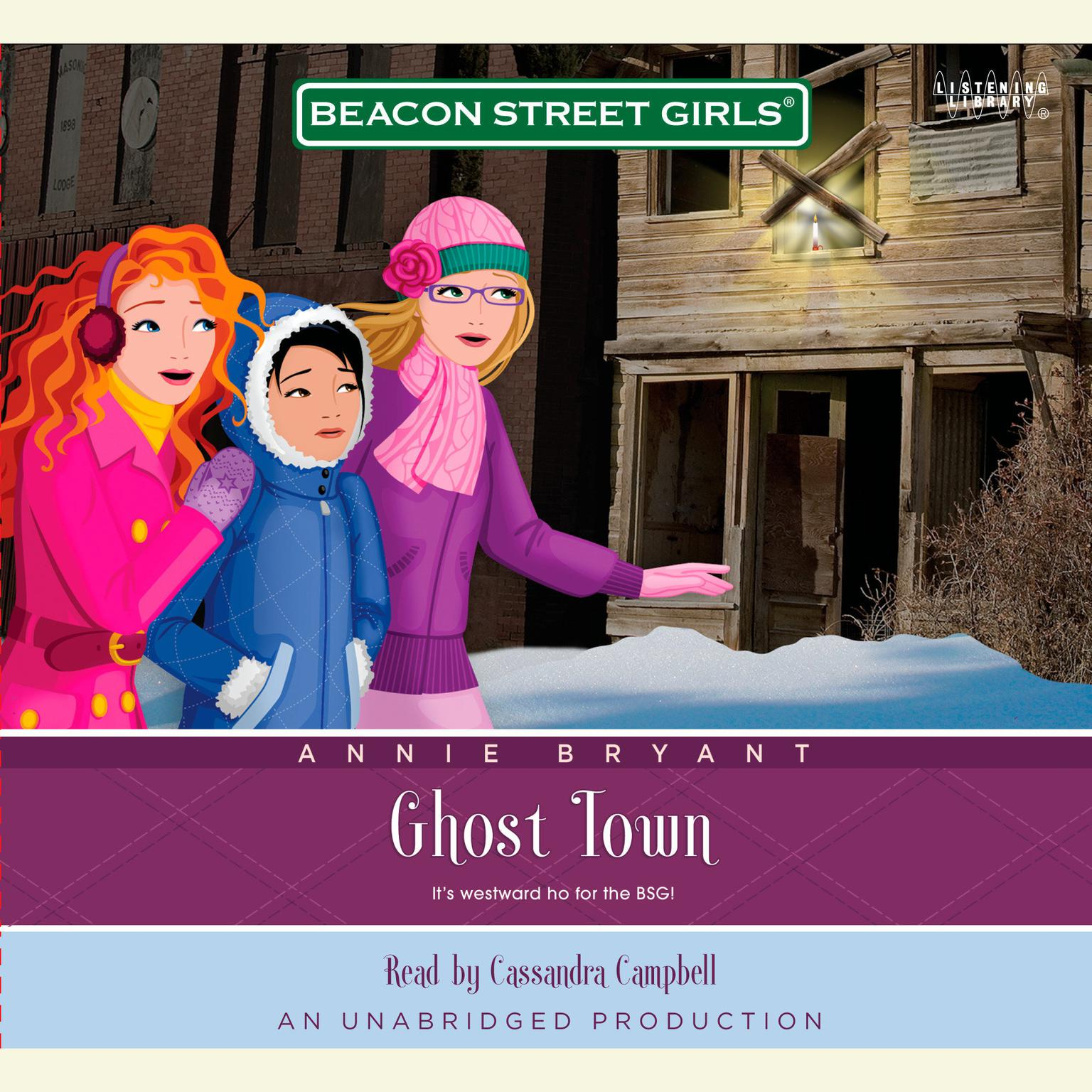 Printable Beacon Street Girls #11: Ghost Town Audiobook Cover Art