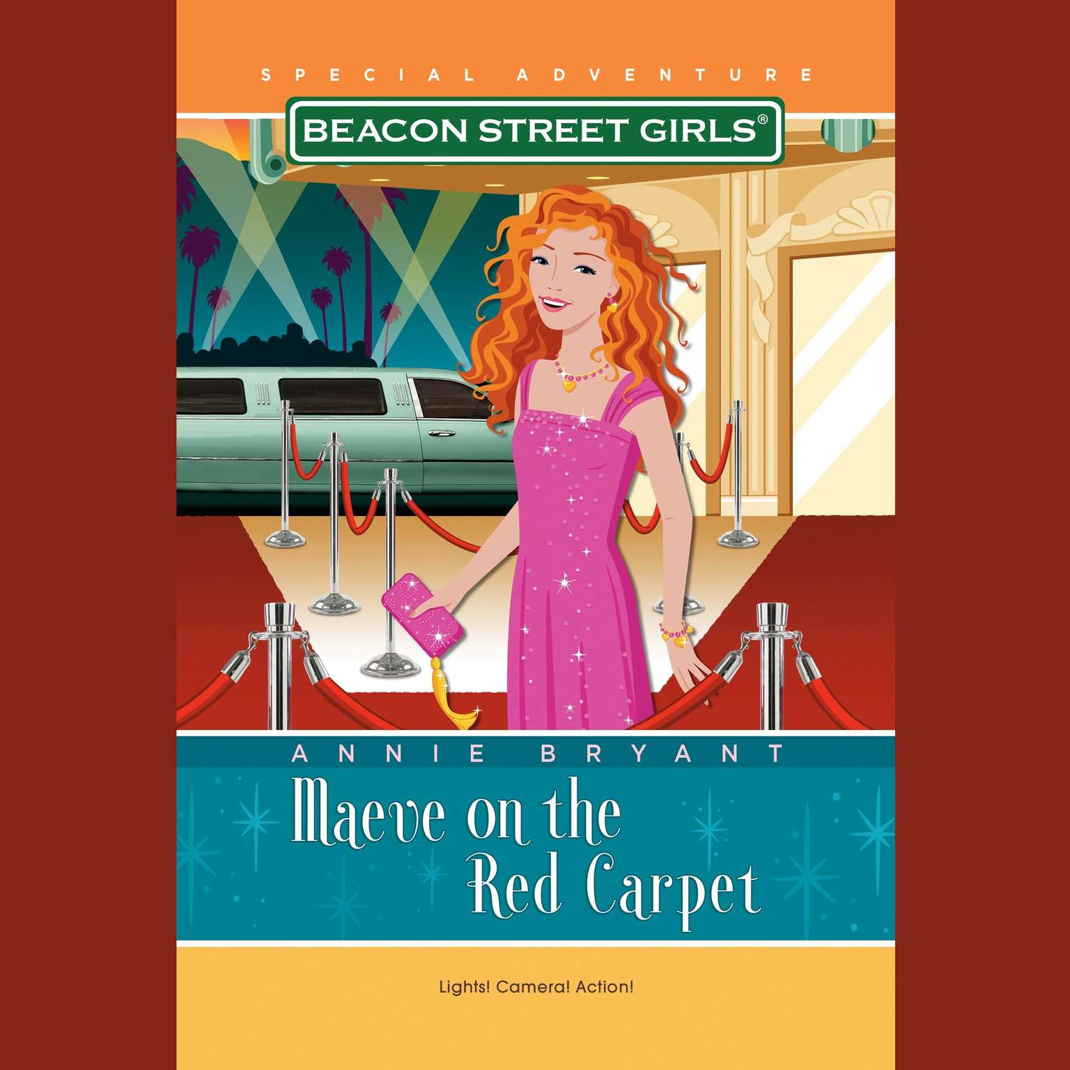 Printable Beacon Street Girls Special Adventure: Maeve on the Red Carpet Audiobook Cover Art