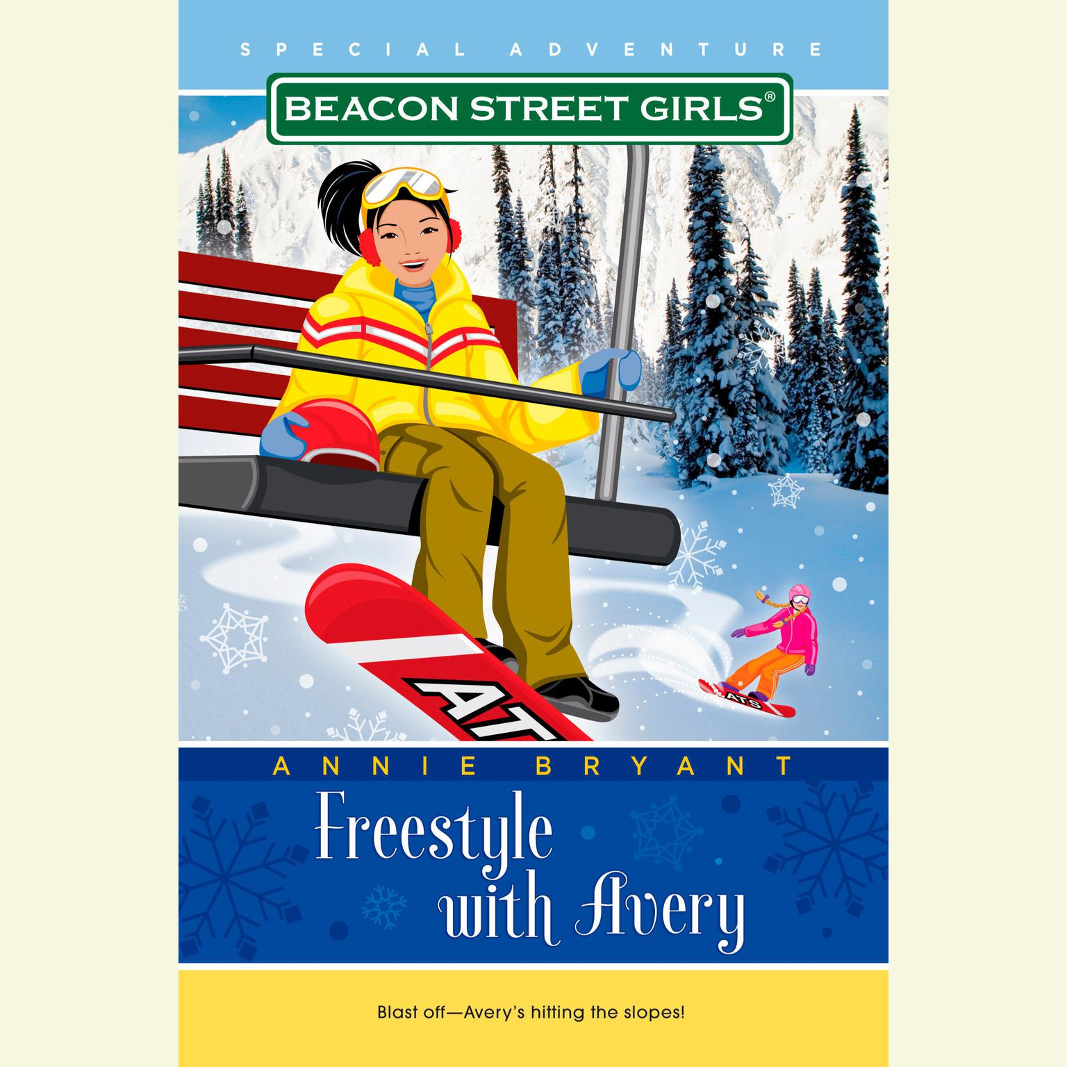 Printable Freestyle with Avery Audiobook Cover Art