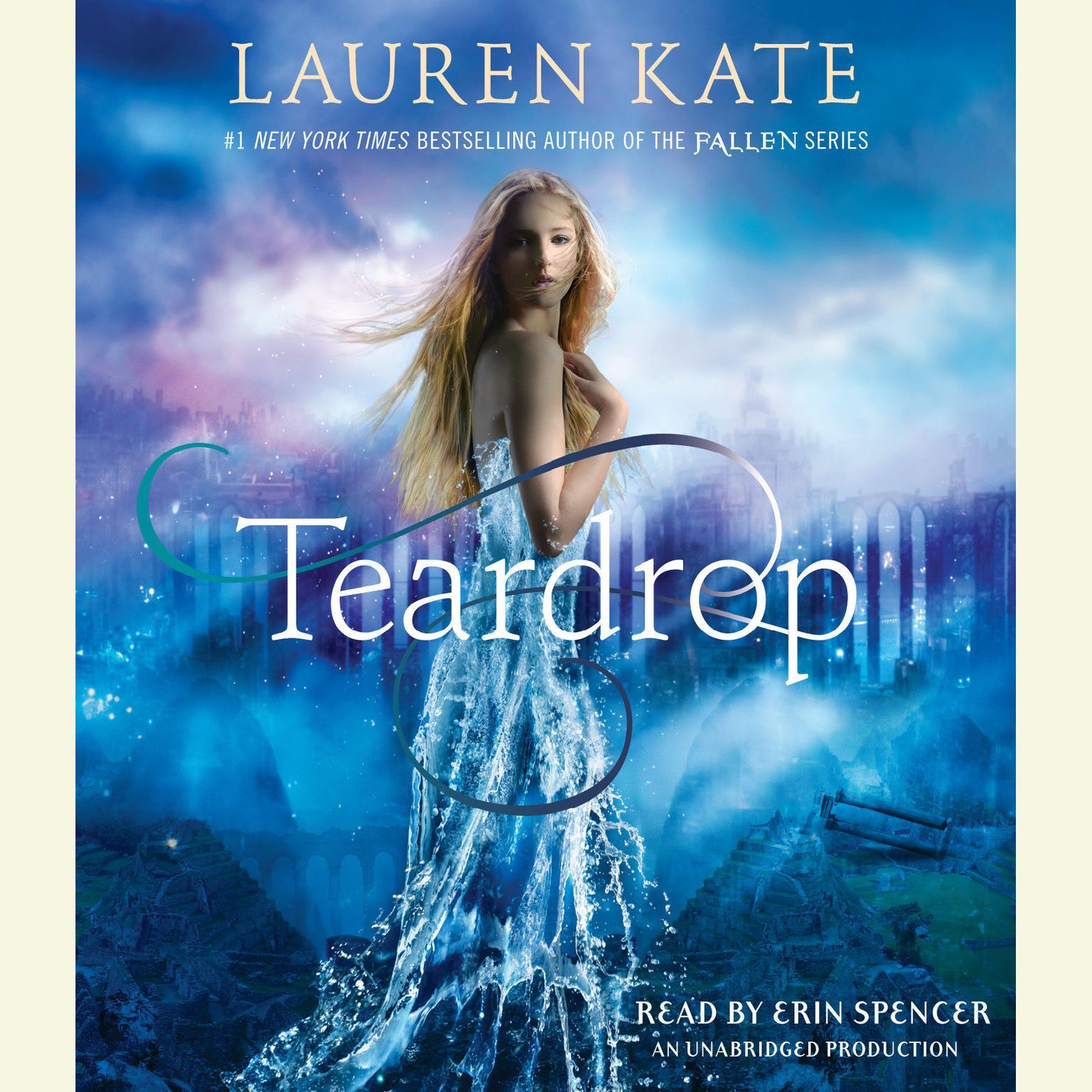 Printable Teardrop Audiobook Cover Art