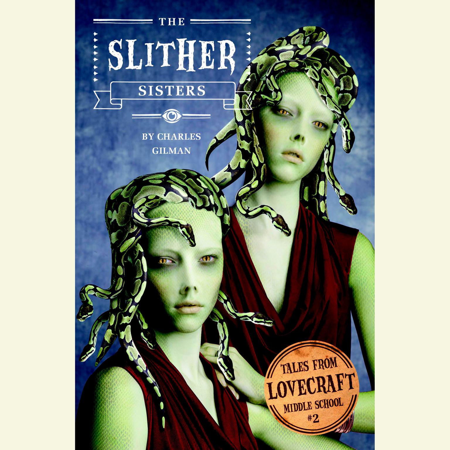 Printable The Slither Sisters Audiobook Cover Art