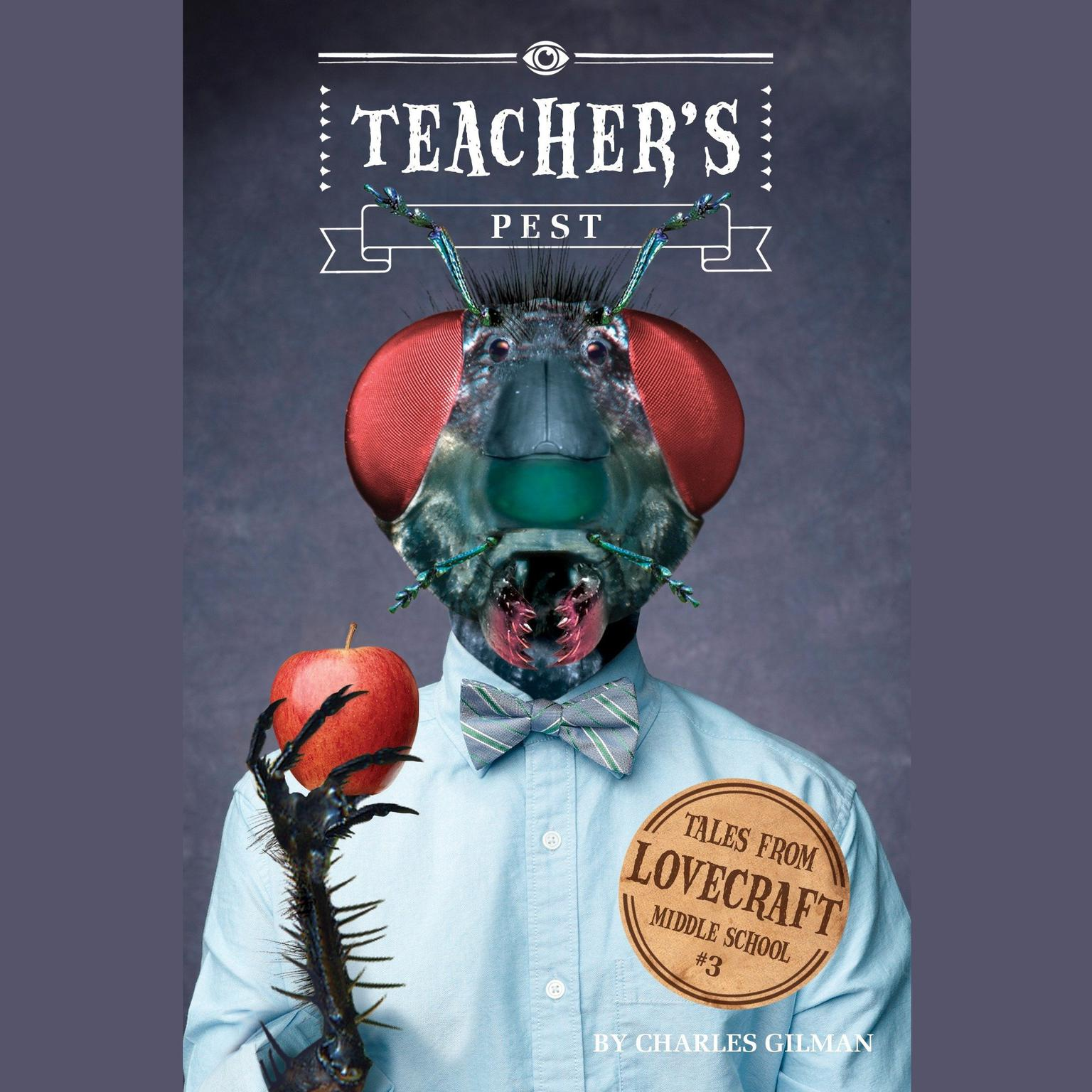 Printable Teacher's Pest Audiobook Cover Art