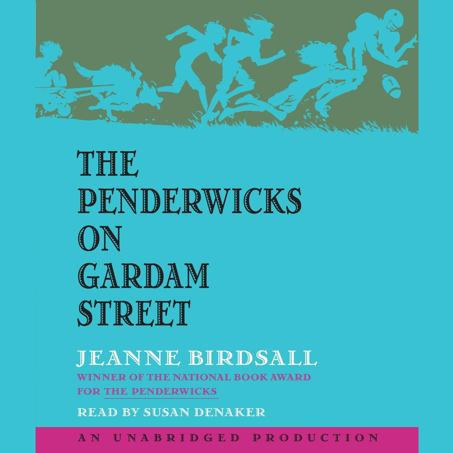 Printable The Penderwicks on Gardam Street Audiobook Cover Art