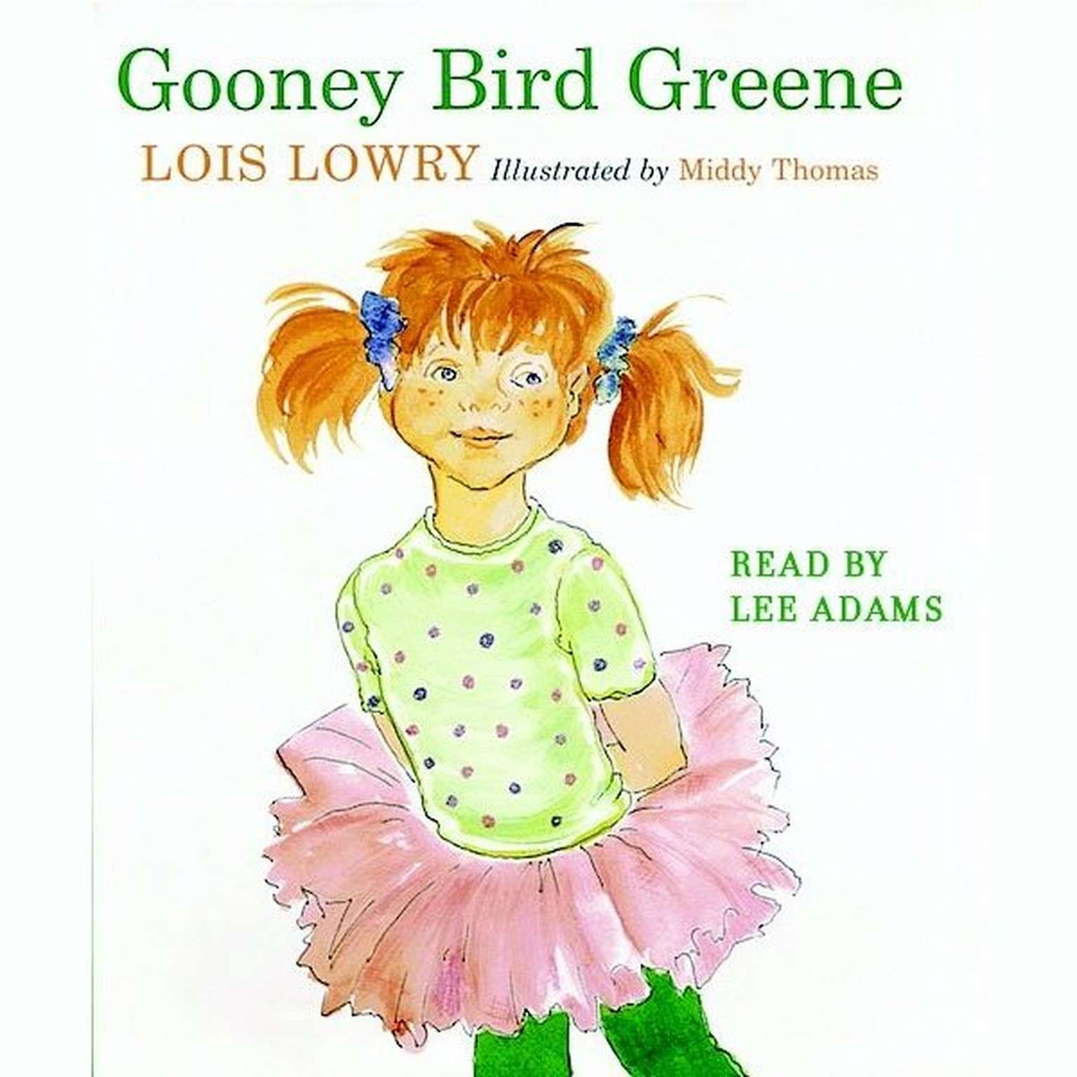 Printable Gooney Bird Greene Audiobook Cover Art