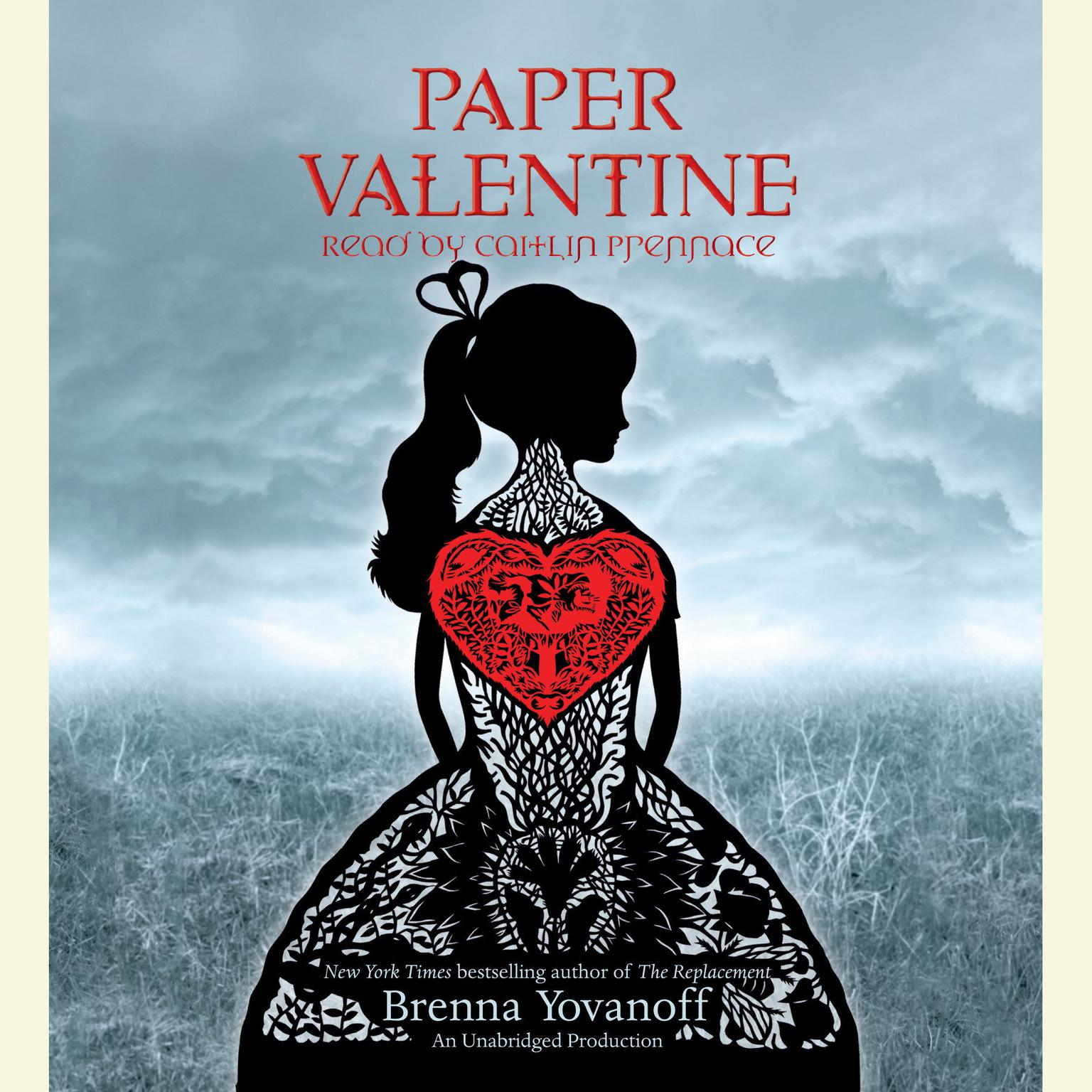 Printable Paper Valentine Audiobook Cover Art