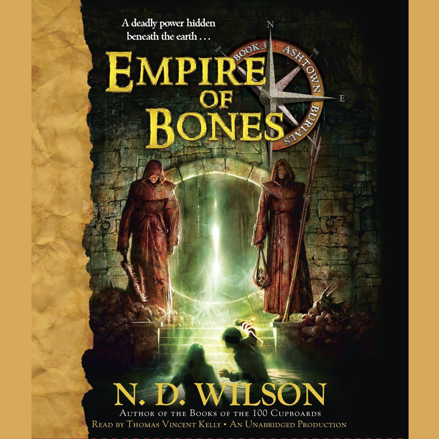 Printable Empire of Bones: Ashtown Burials #3 Audiobook Cover Art