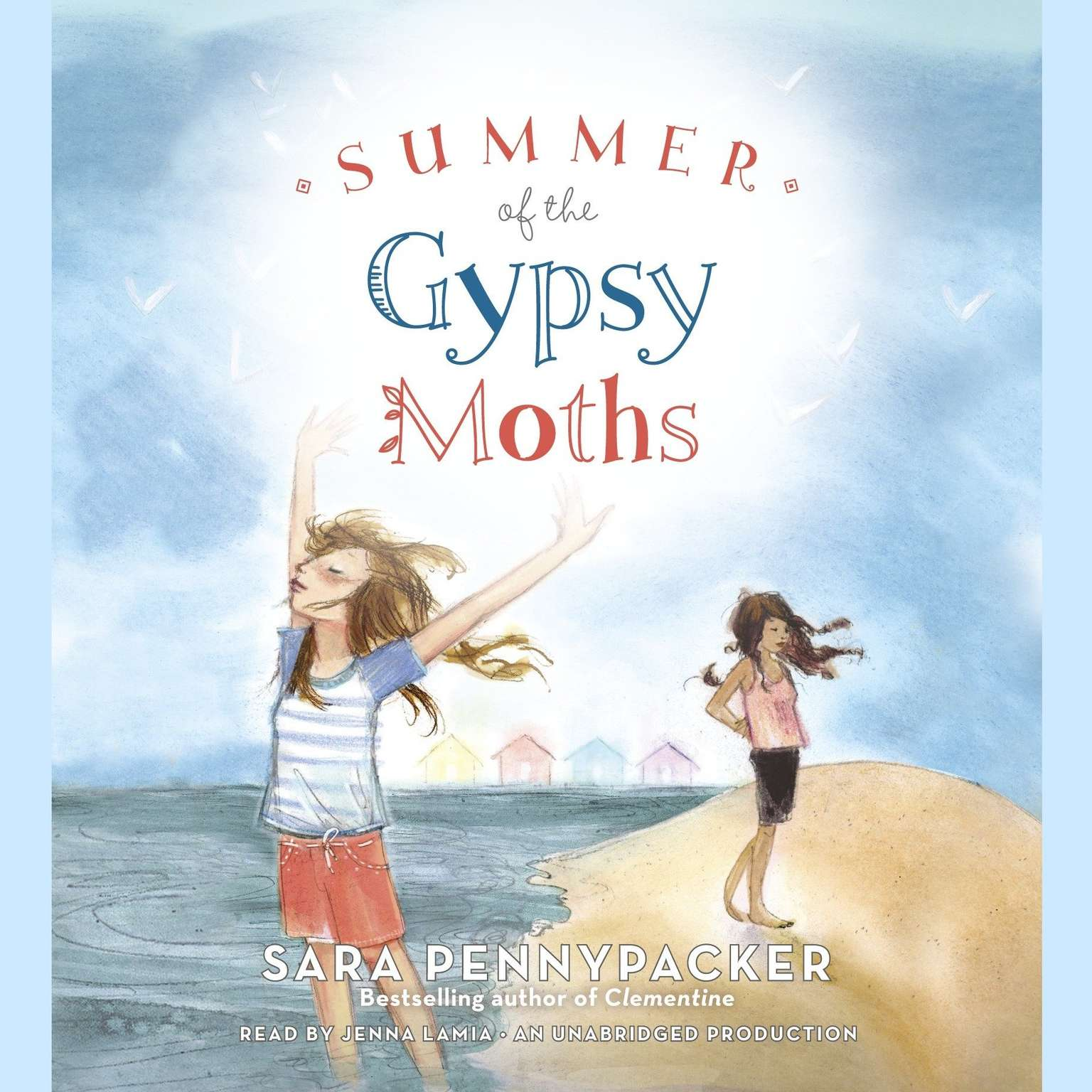 Printable Summer of the Gypsy Moths Audiobook Cover Art