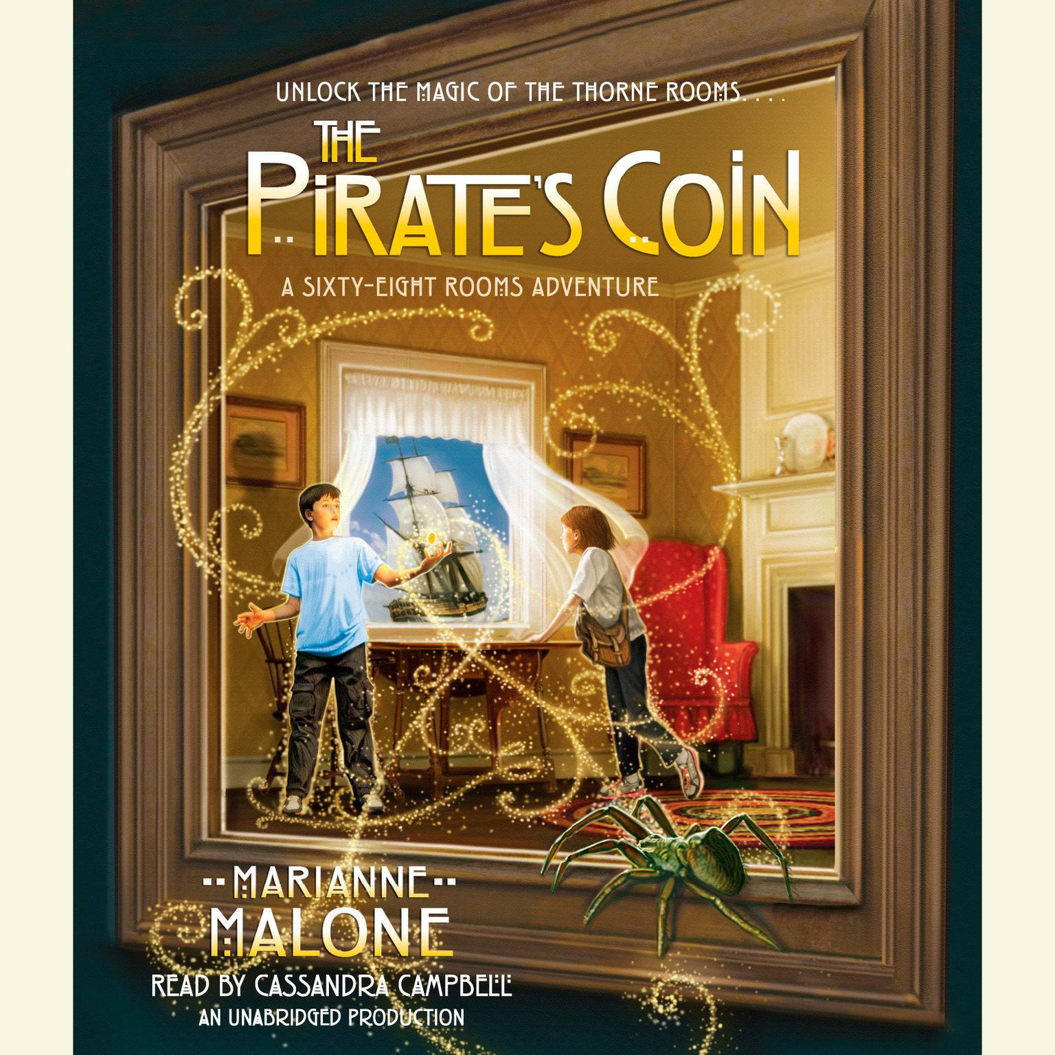 Printable The Pirate's Coin: A Sixty-Eight Rooms Adventure Audiobook Cover Art