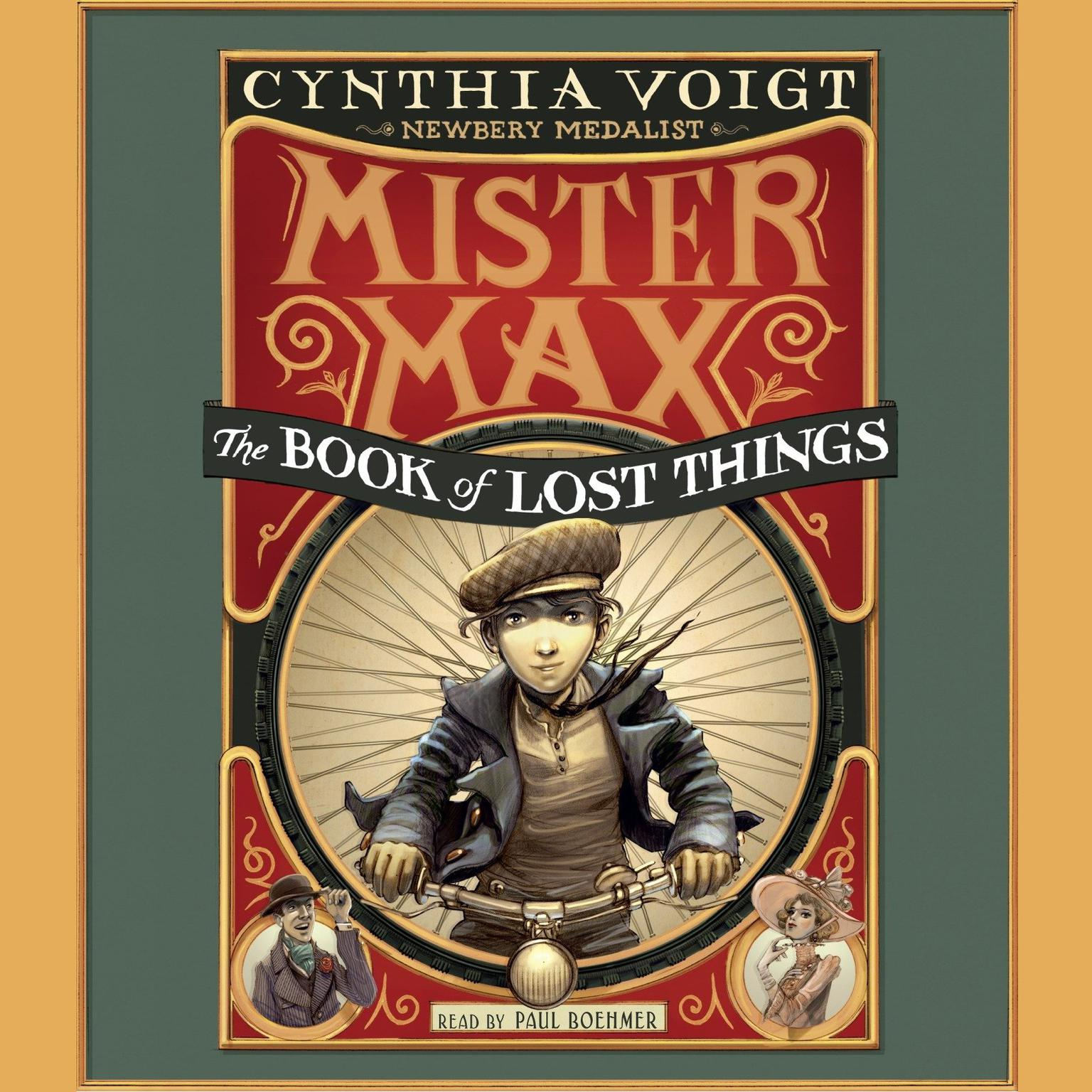 Printable The Book of Lost Things: Mister Max 1 Audiobook Cover Art