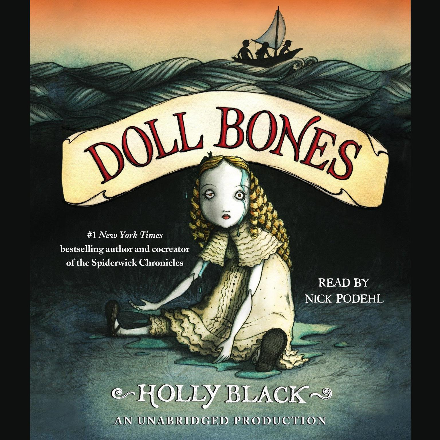 Printable Doll Bones Audiobook Cover Art