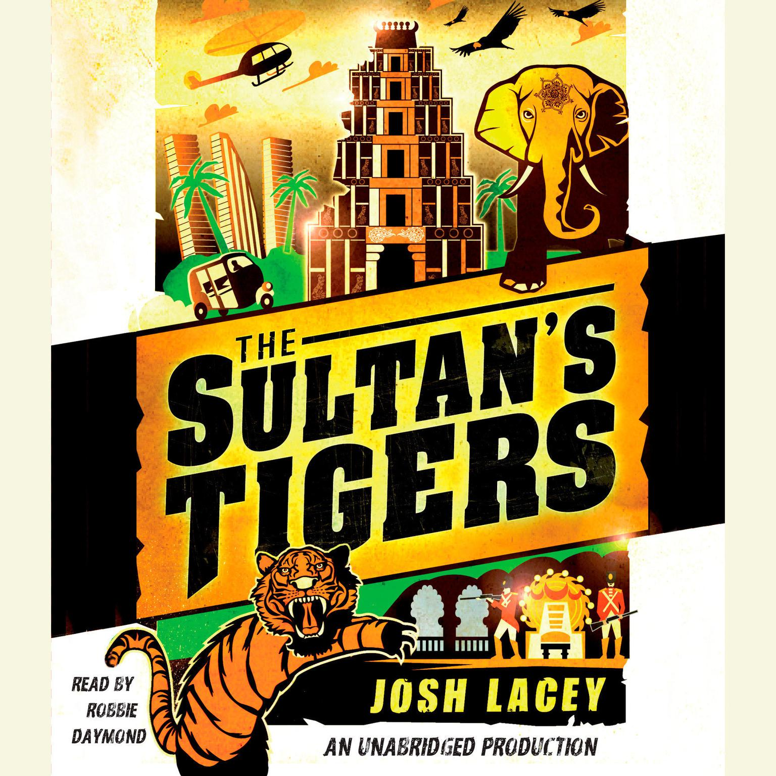 Printable The Sultan's Tigers Audiobook Cover Art
