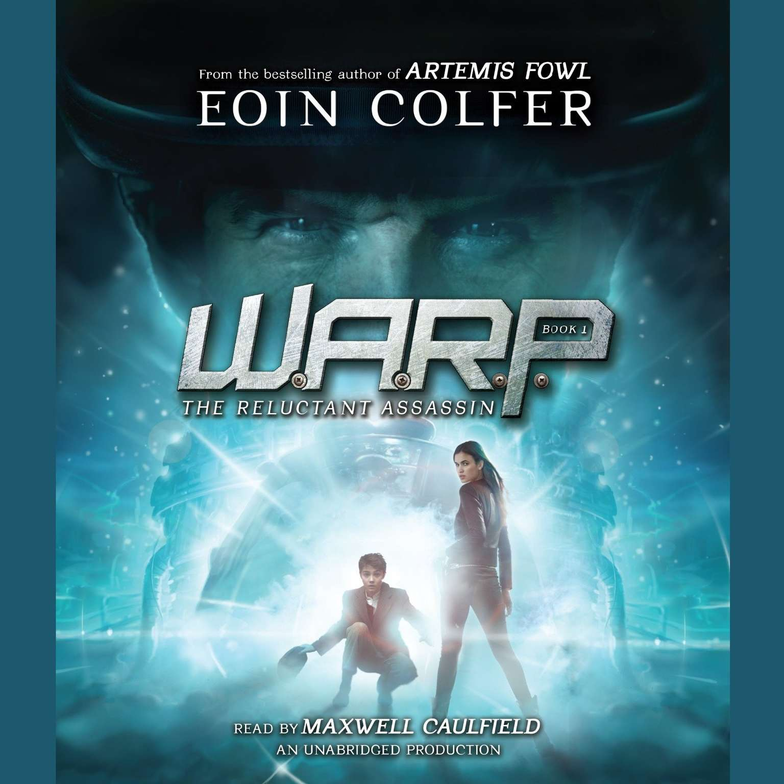 Printable WARP Book 1: The Reluctant Assassin Audiobook Cover Art