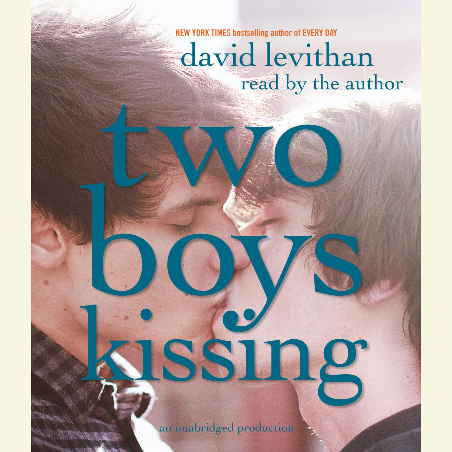 Printable Two Boys Kissing Audiobook Cover Art