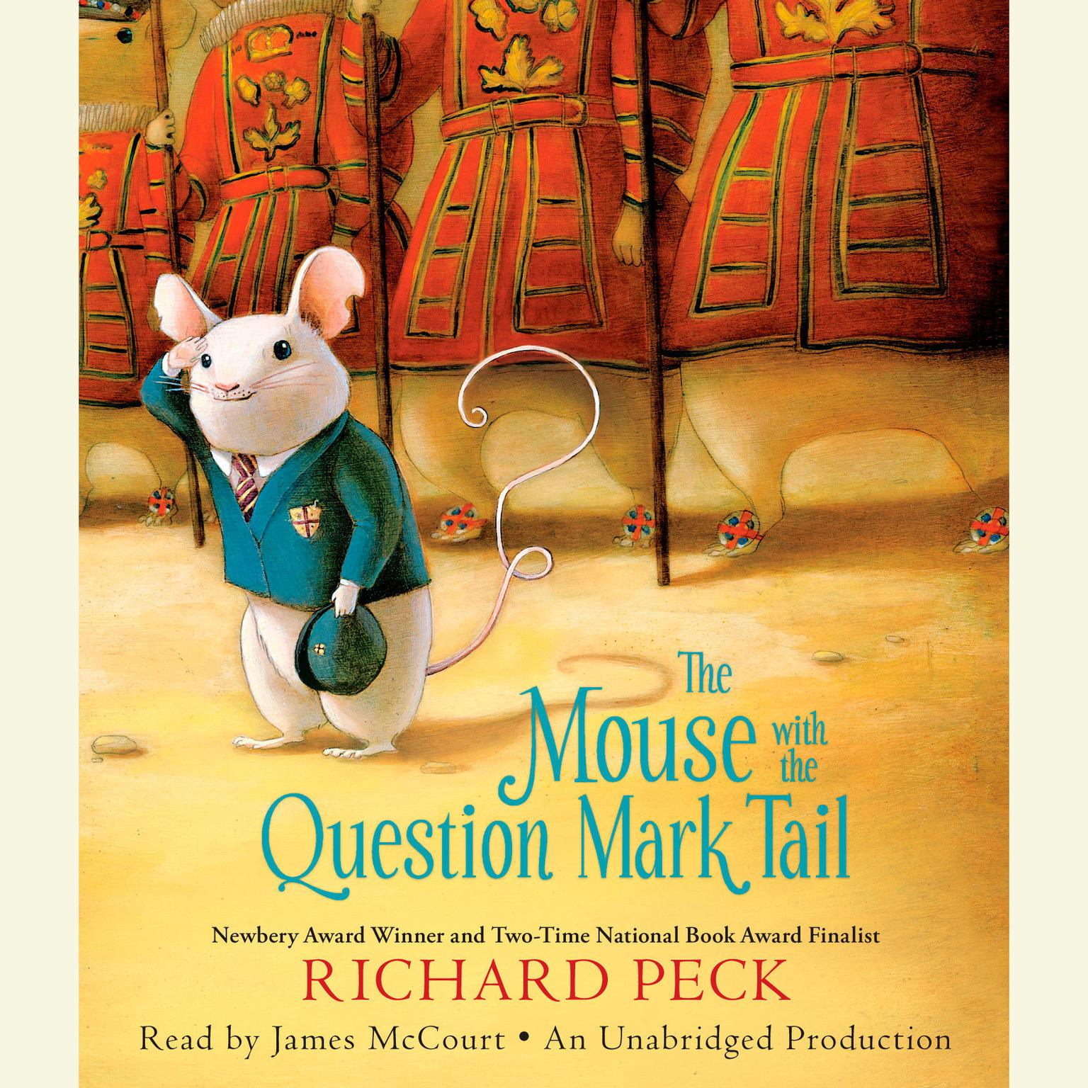 Printable The Mouse with the Question Mark Tail Audiobook Cover Art