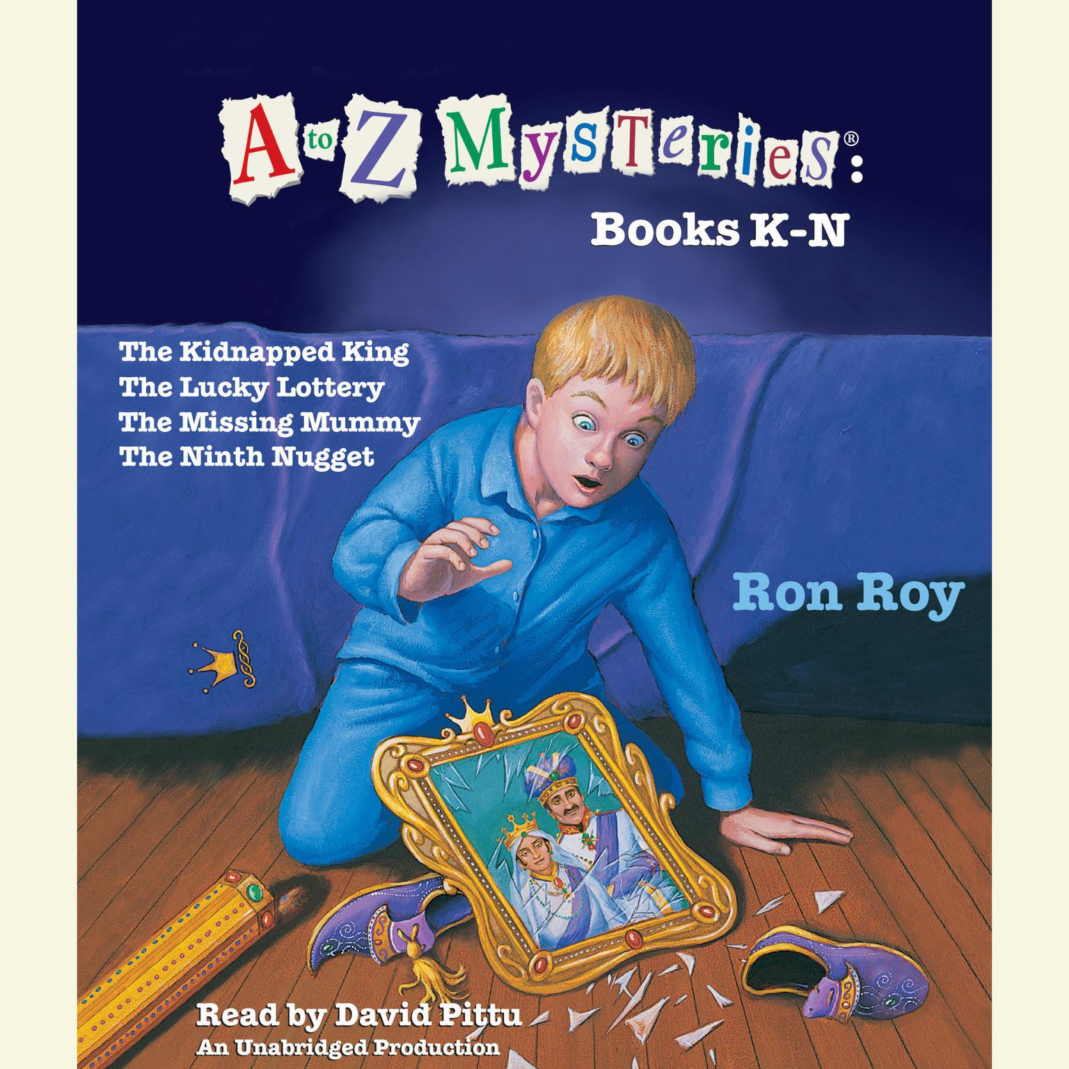 Printable A to Z Mysteries: Books K-N Audiobook Cover Art