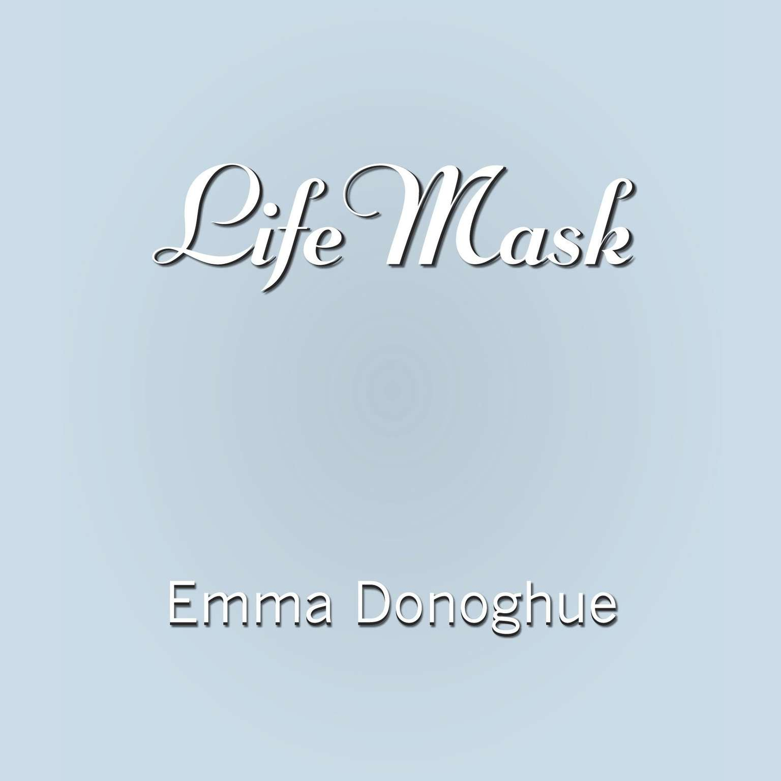 Printable Life Mask Audiobook Cover Art