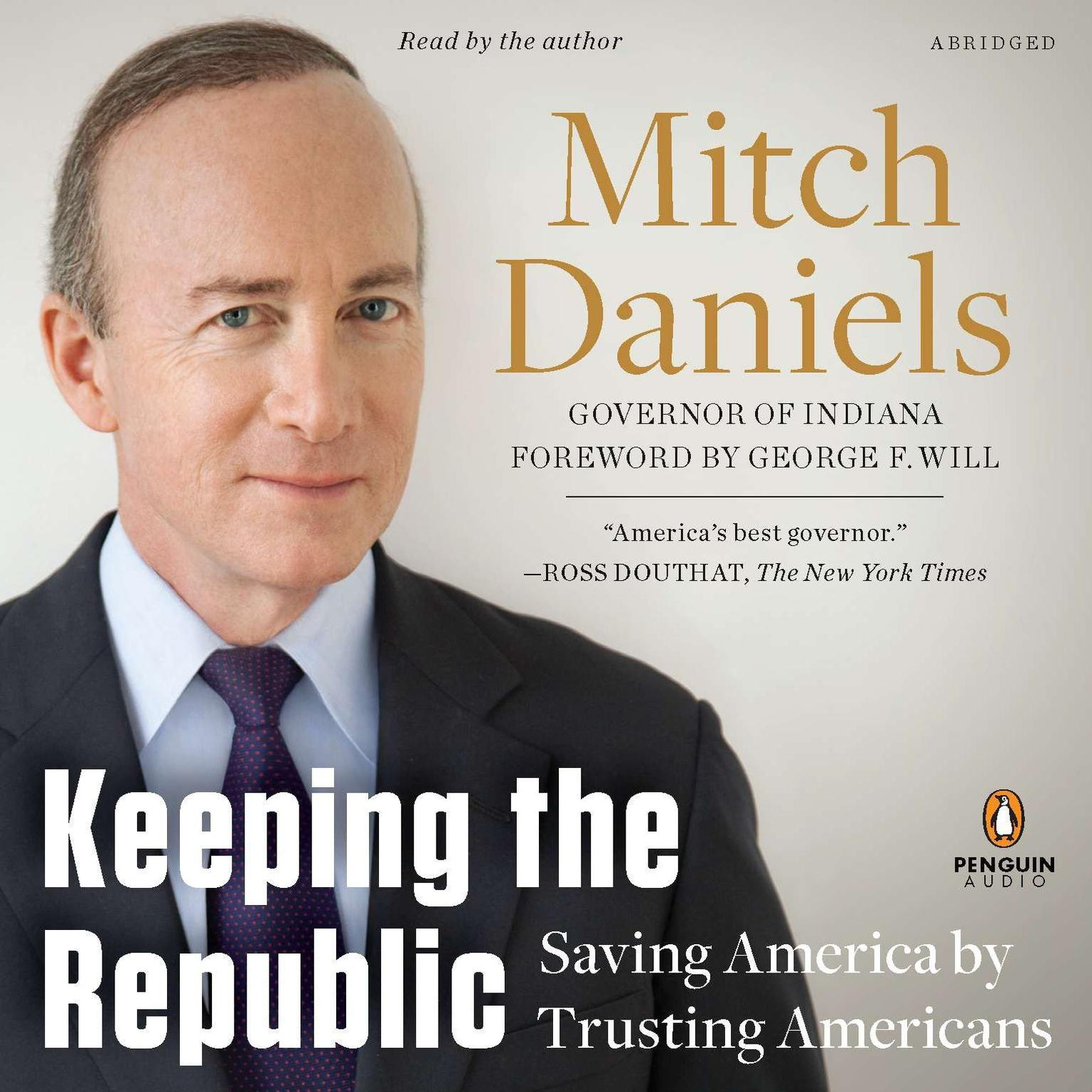 Printable Keeping the Republic: Saving America by Trusting Americans Audiobook Cover Art