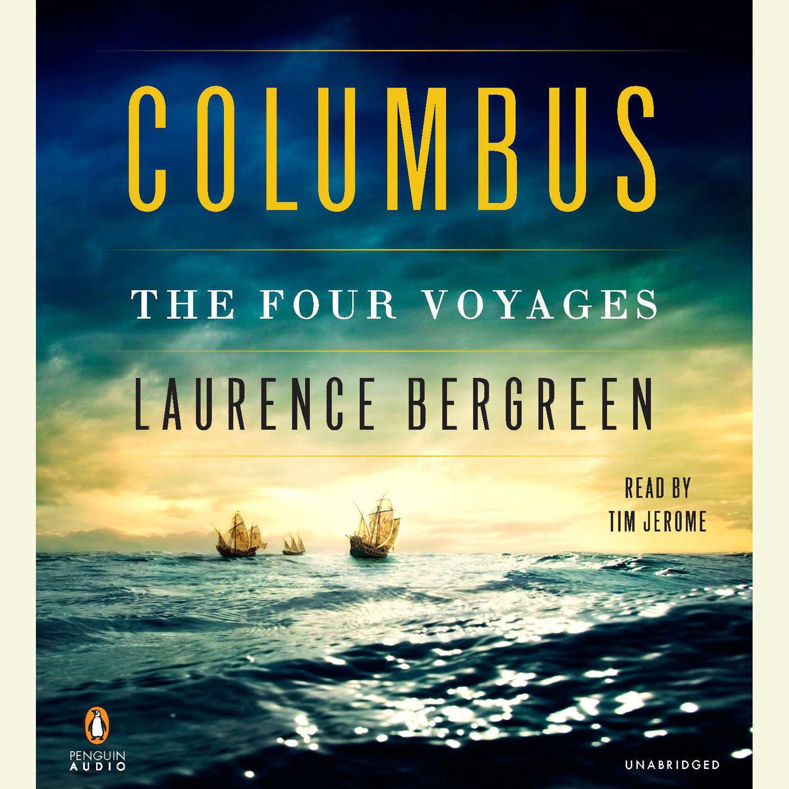 Printable Columbus: The Four Voyages Audiobook Cover Art