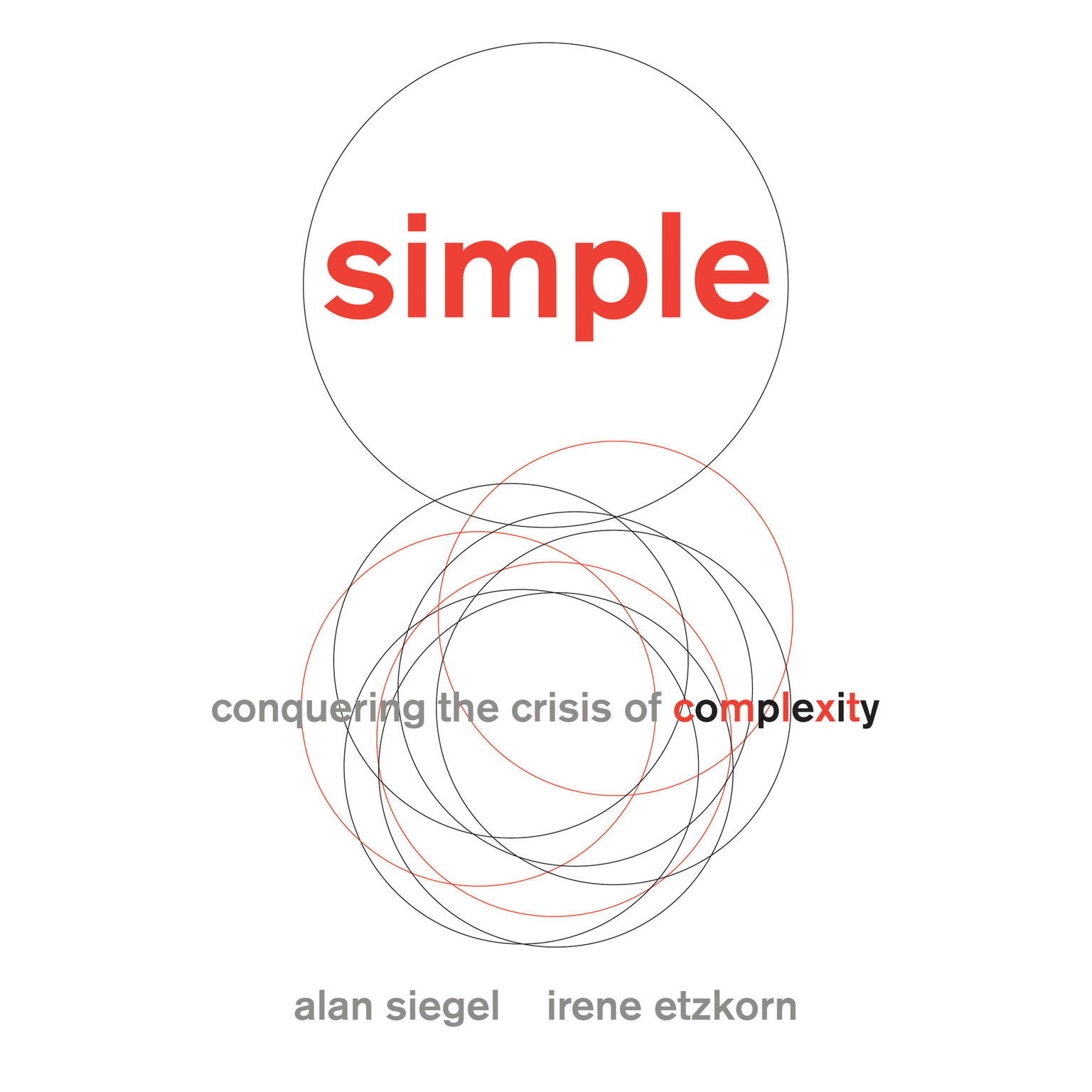 Printable Simple: Conquering the Crisis of Complexity Audiobook Cover Art