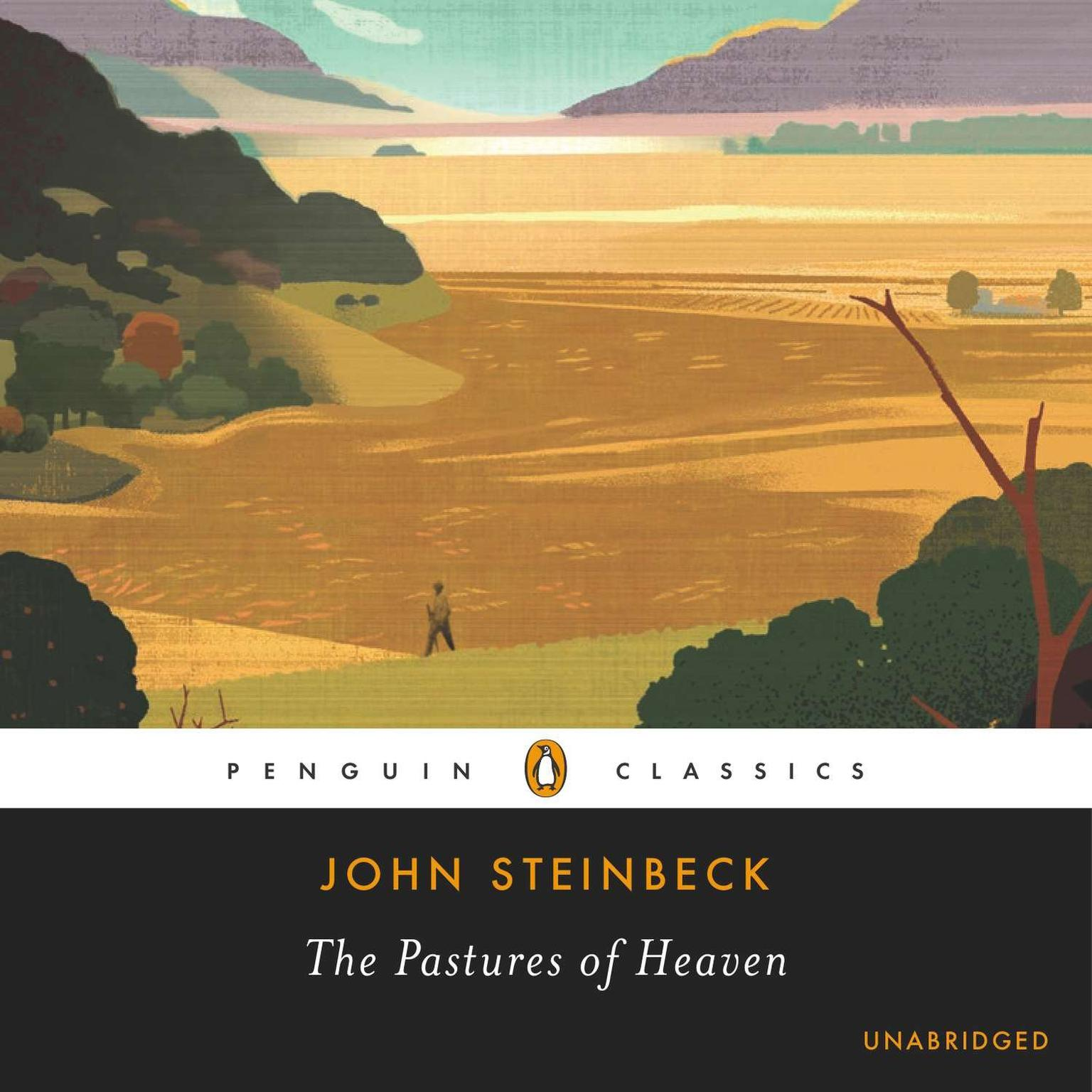 Printable The Pastures of Heaven Audiobook Cover Art