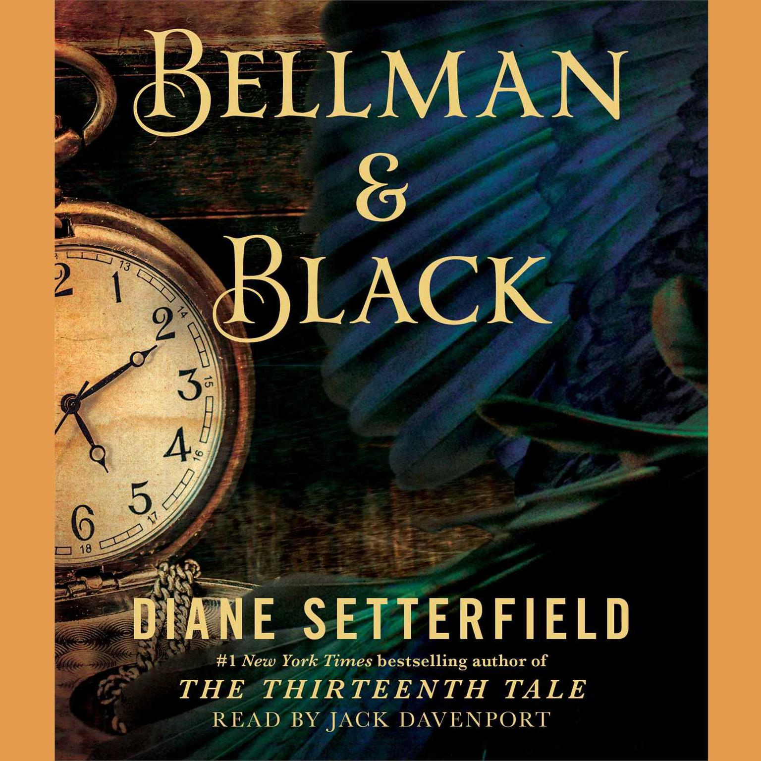 Printable Bellman & Black: A Ghost Story Audiobook Cover Art