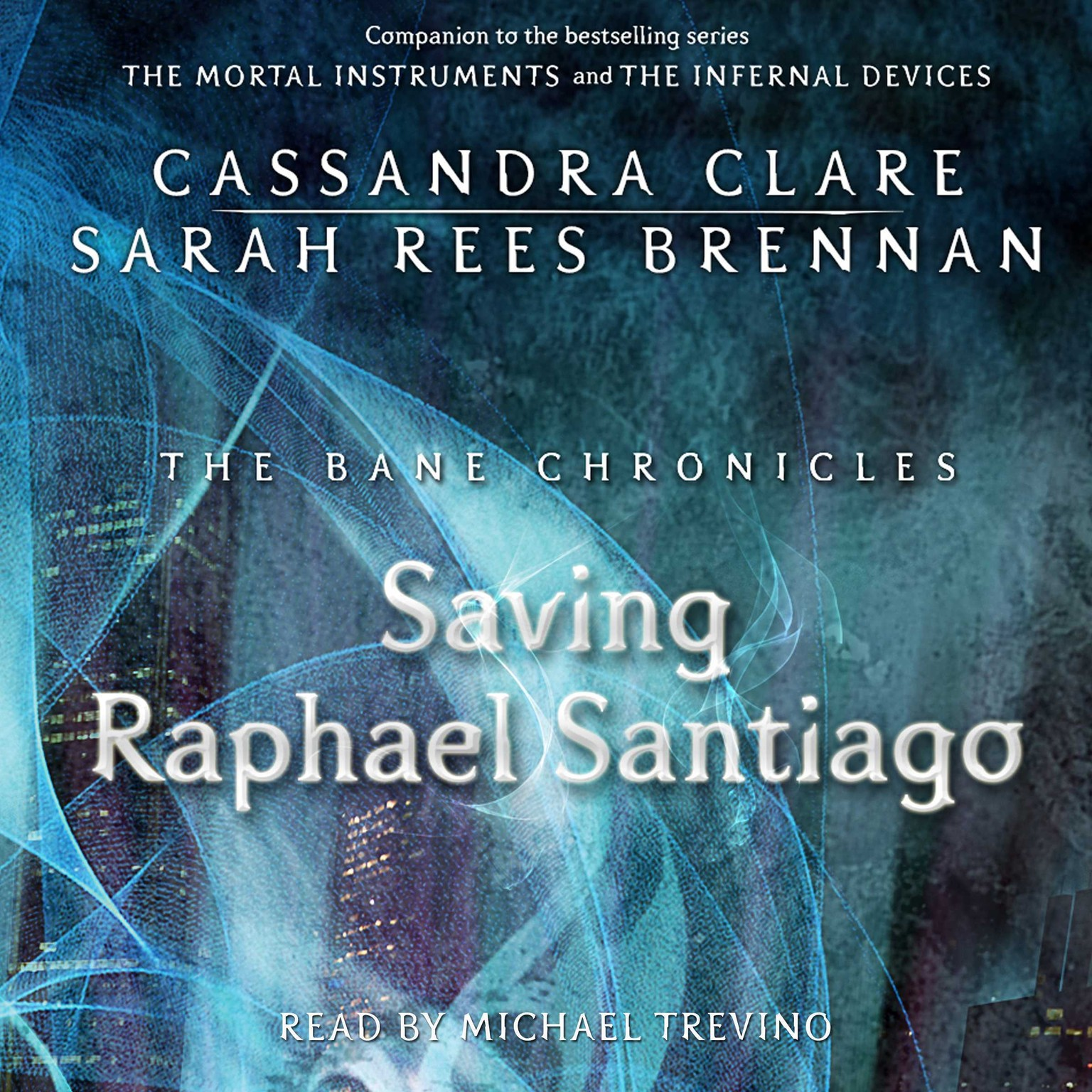 Printable The Saving Raphael Santiago Audiobook Cover Art