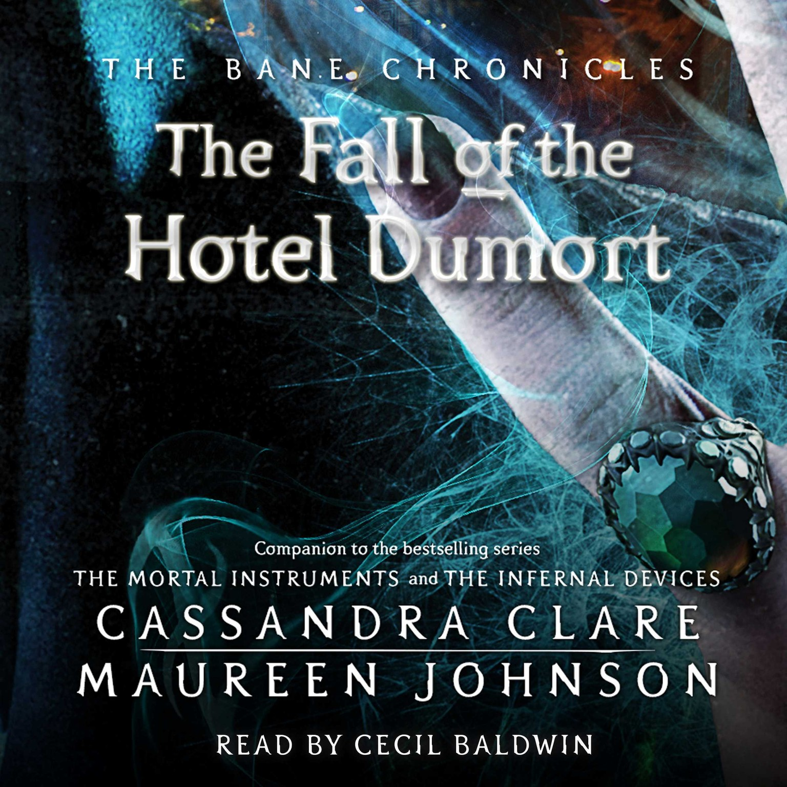 Printable Fall of the Hotel Dumort Audiobook Cover Art