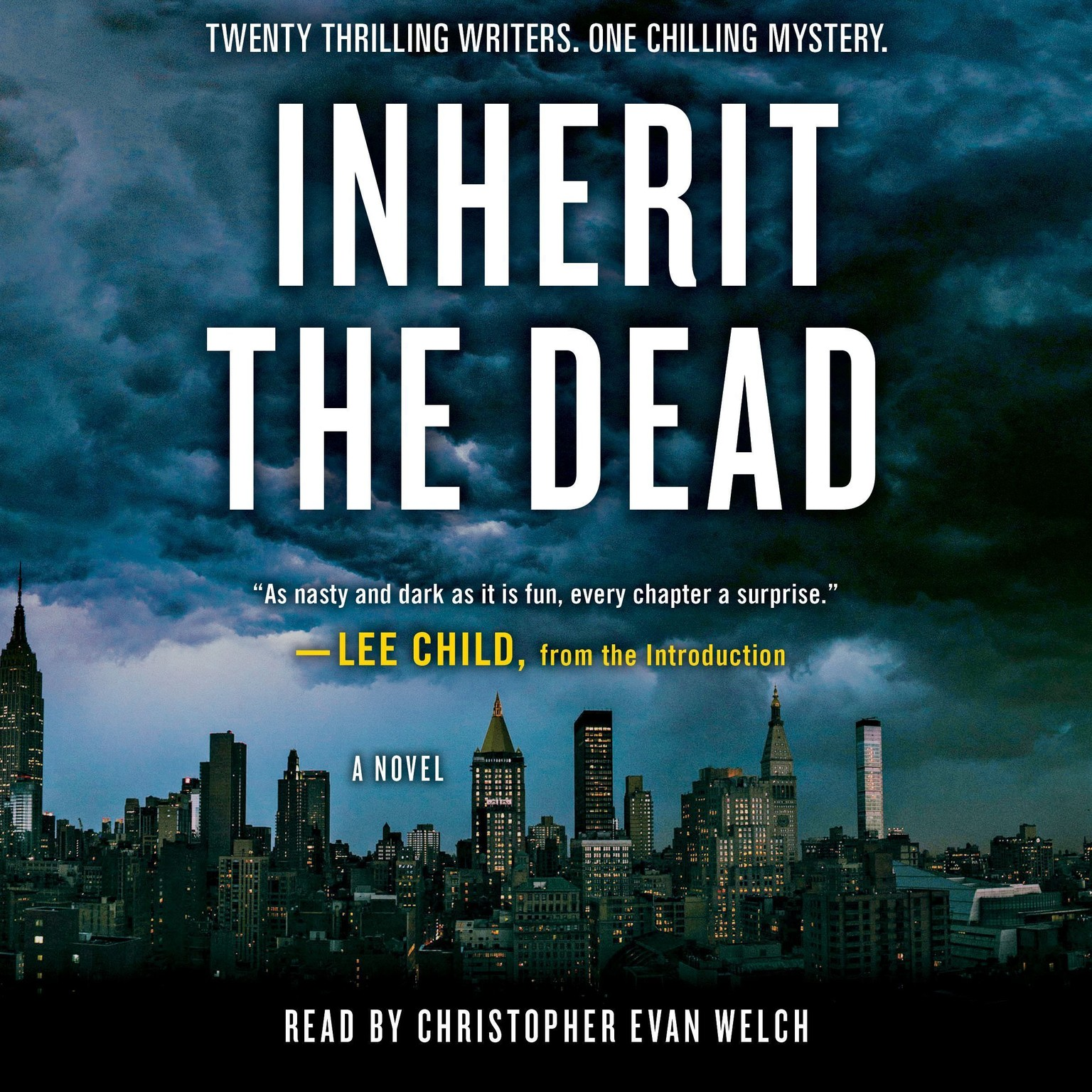 Printable Inherit the Dead: A Novel Audiobook Cover Art