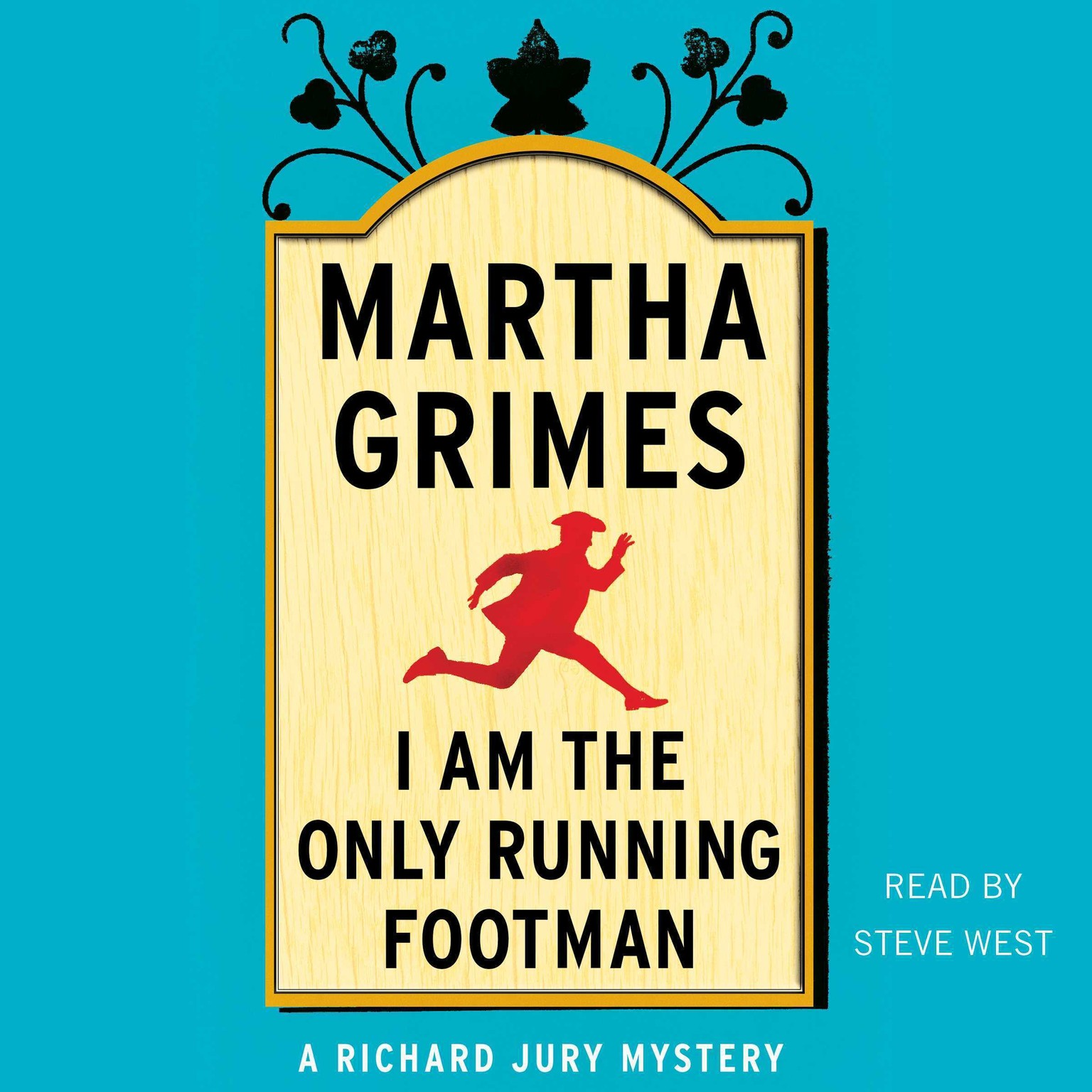 Printable I Am the Only Running Footman Audiobook Cover Art