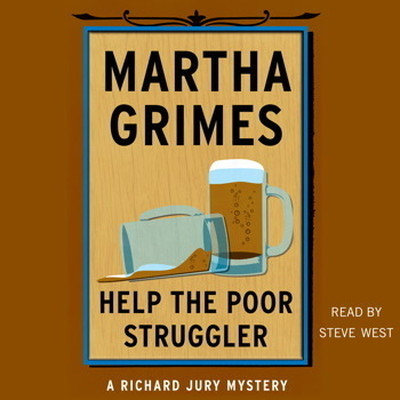 Printable Help the Poor Struggler: A Richard Jury Novel Audiobook Cover Art