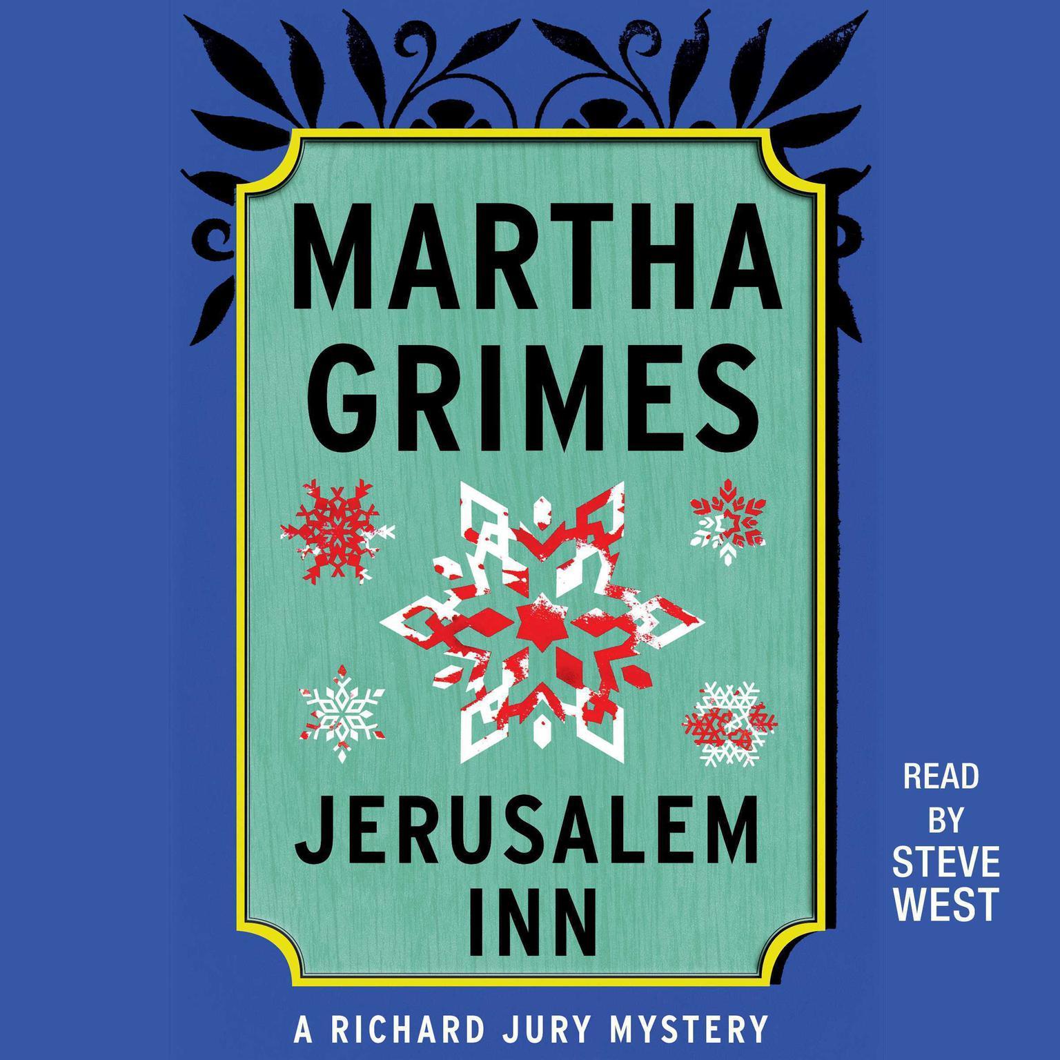 Printable Jerusalem Inn Audiobook Cover Art