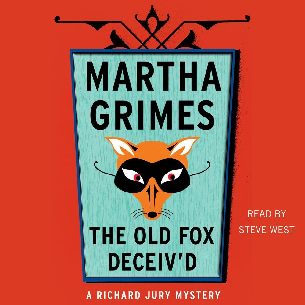 Printable The Old Fox Deceived Audiobook Cover Art