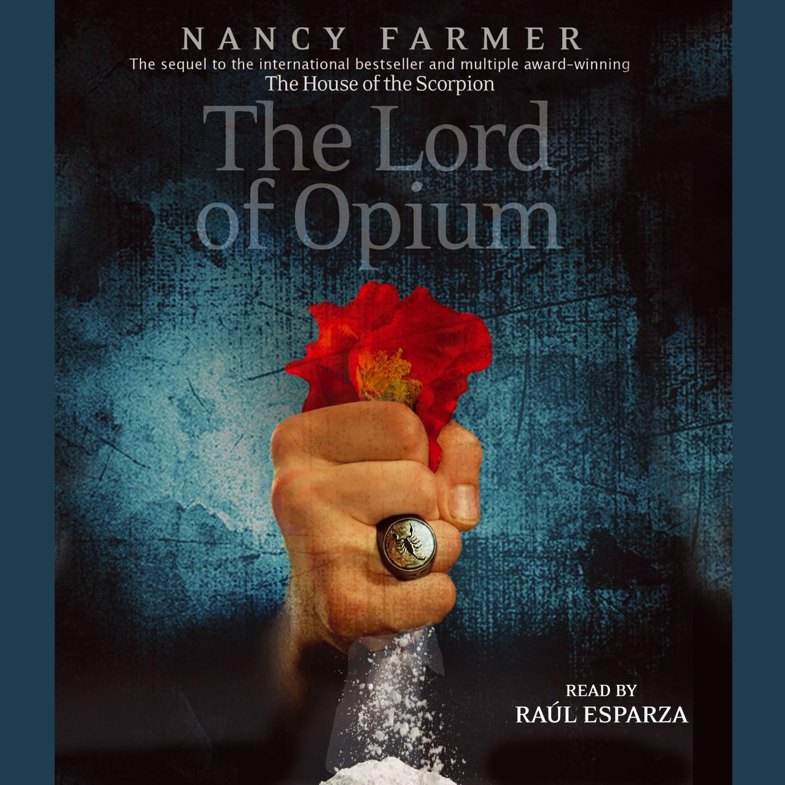 Printable The Lord of Opium Audiobook Cover Art