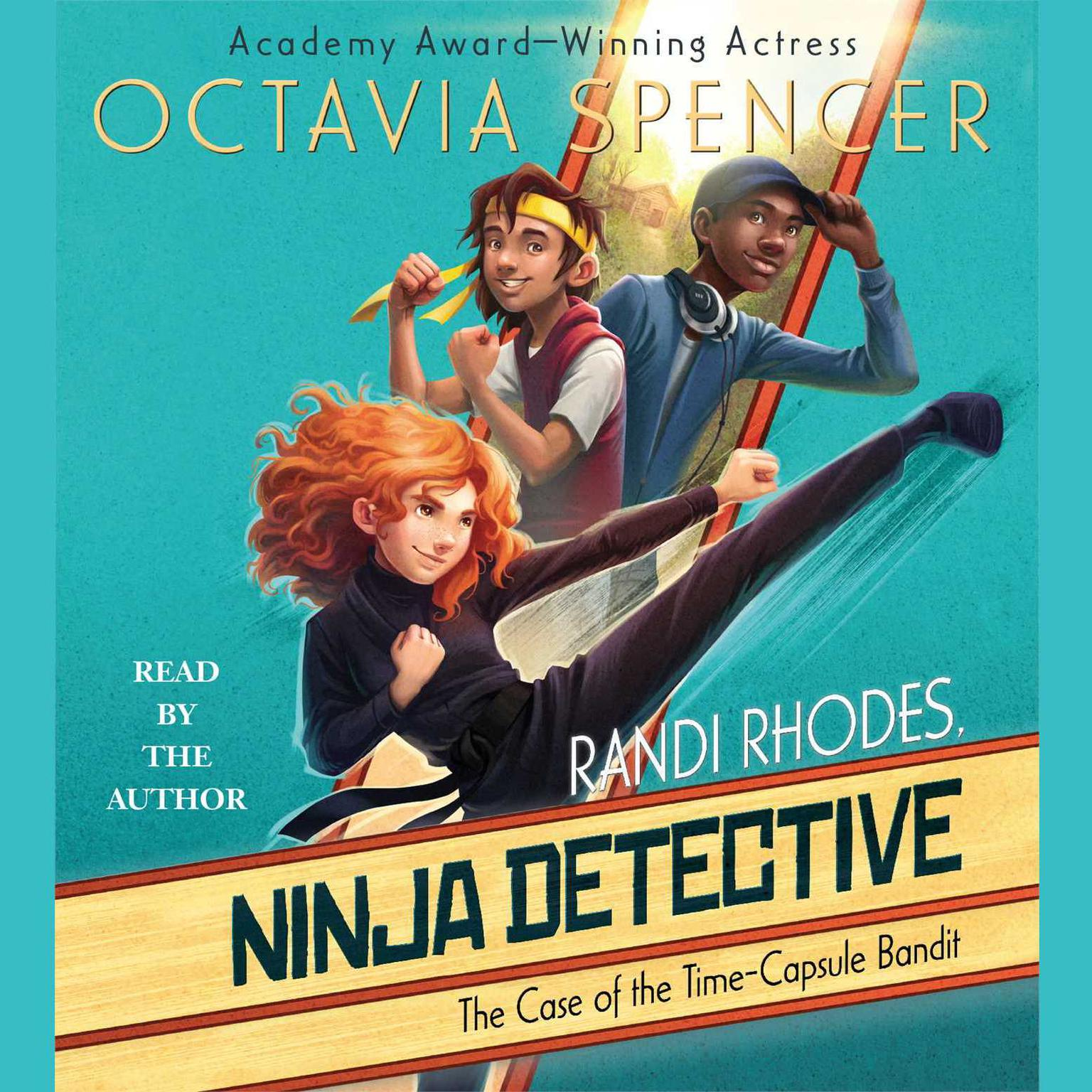 Printable The Case of the Time-Capsule Bandit Audiobook Cover Art