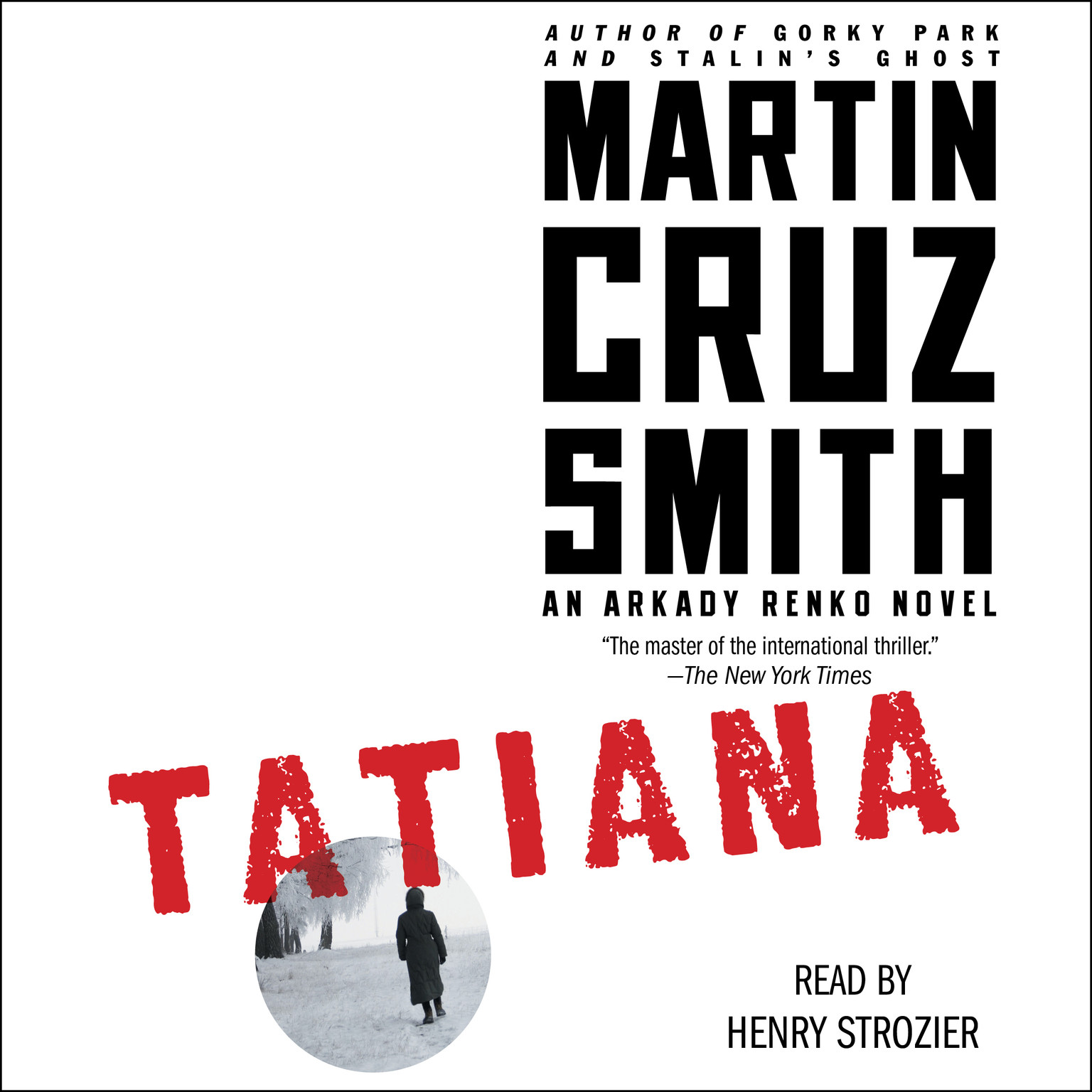 Printable Tatiana: An Arkady Renko Novel Audiobook Cover Art