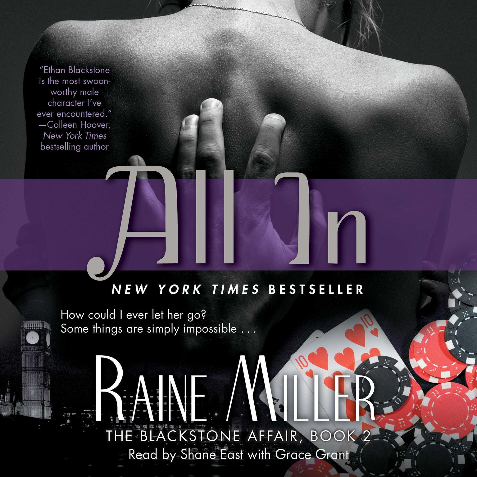 Printable All In: The Blackstone Affair Part 2 Audiobook Cover Art